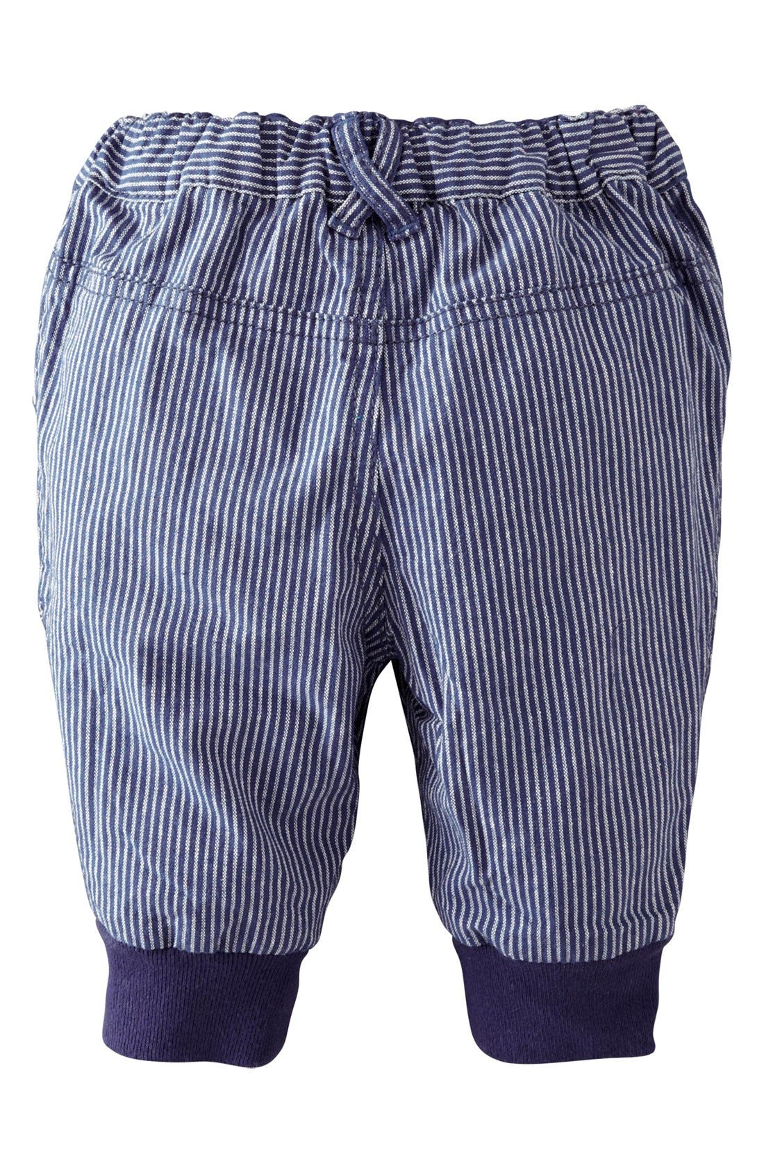 Alternate Image 2  - Mini Boden Ribbed Cuff Pants (Baby Boys)