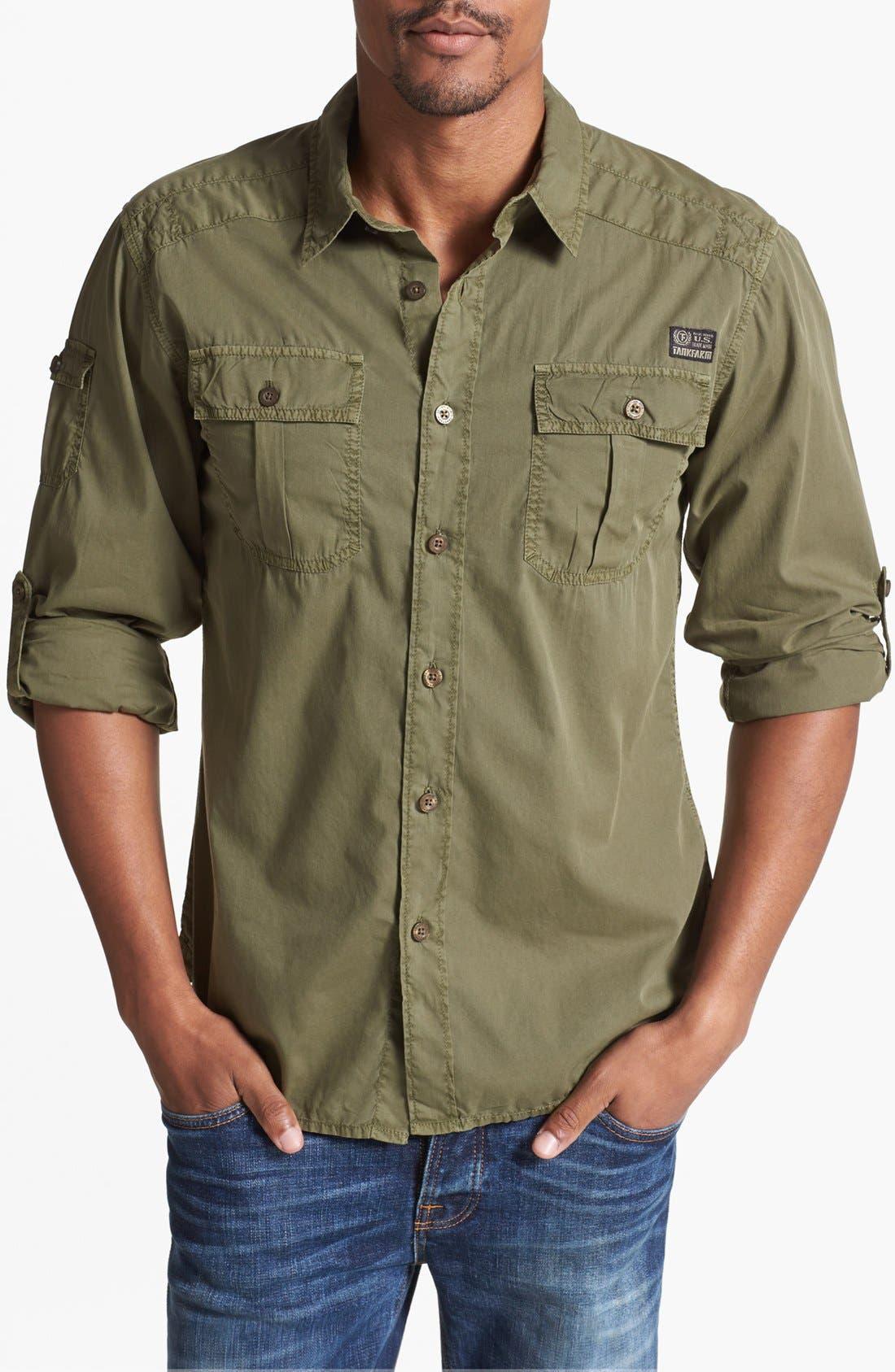 Main Image - Tankfarm 'Deploy' Woven Shirt