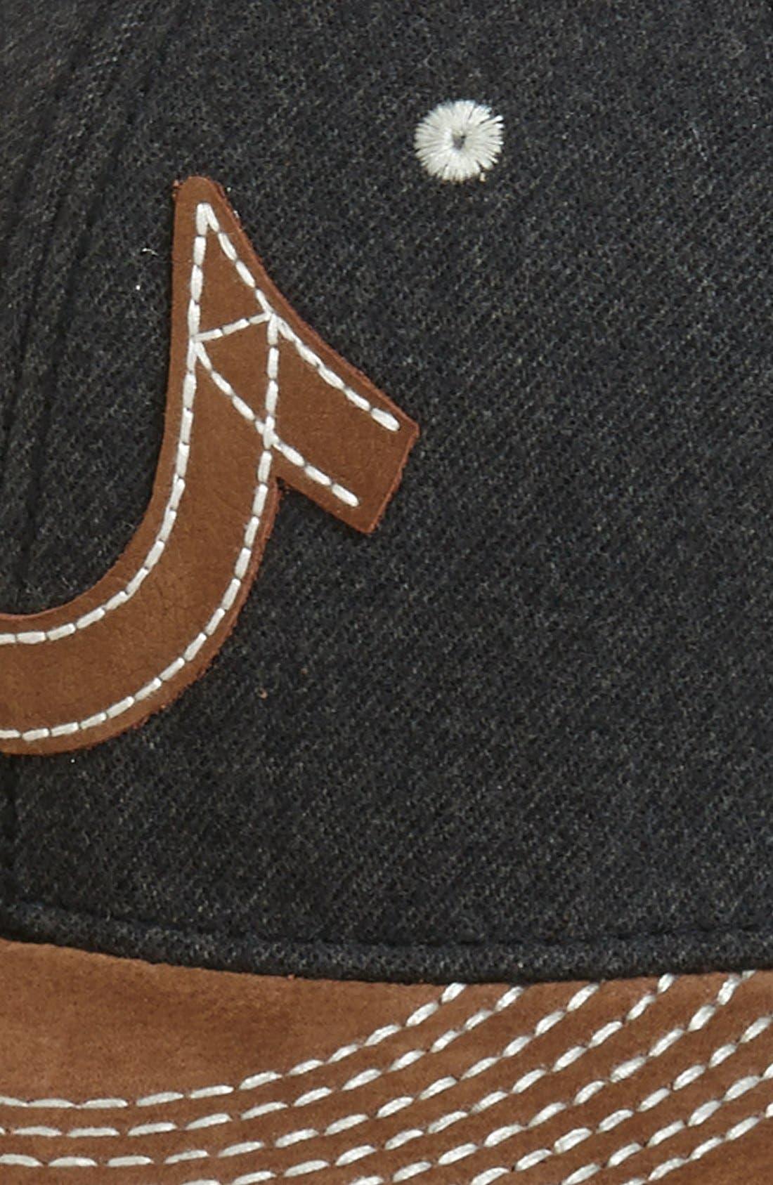 Alternate Image 3  - True Religion Brand Jeans 'Horseshoe' Baseball Cap
