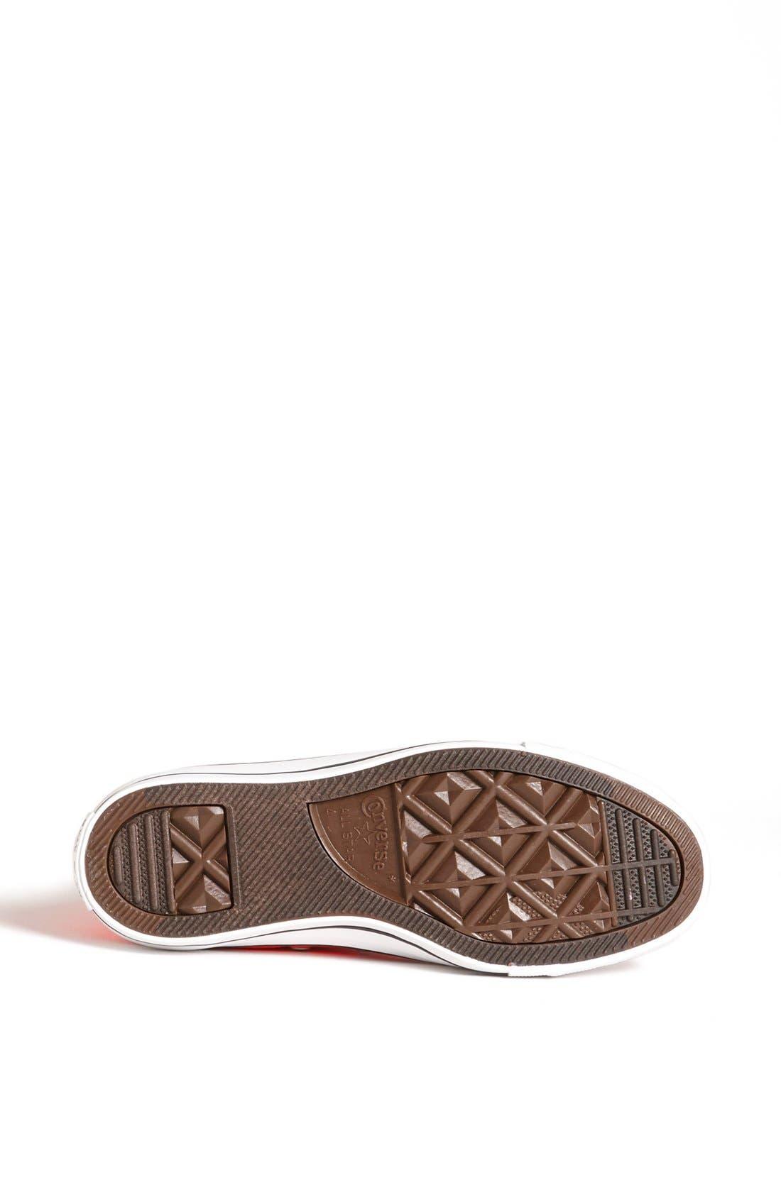 Alternate Image 4  - Converse Chuck Taylor® All Star® 'Fiery Coral' High Top Sneaker (Women)