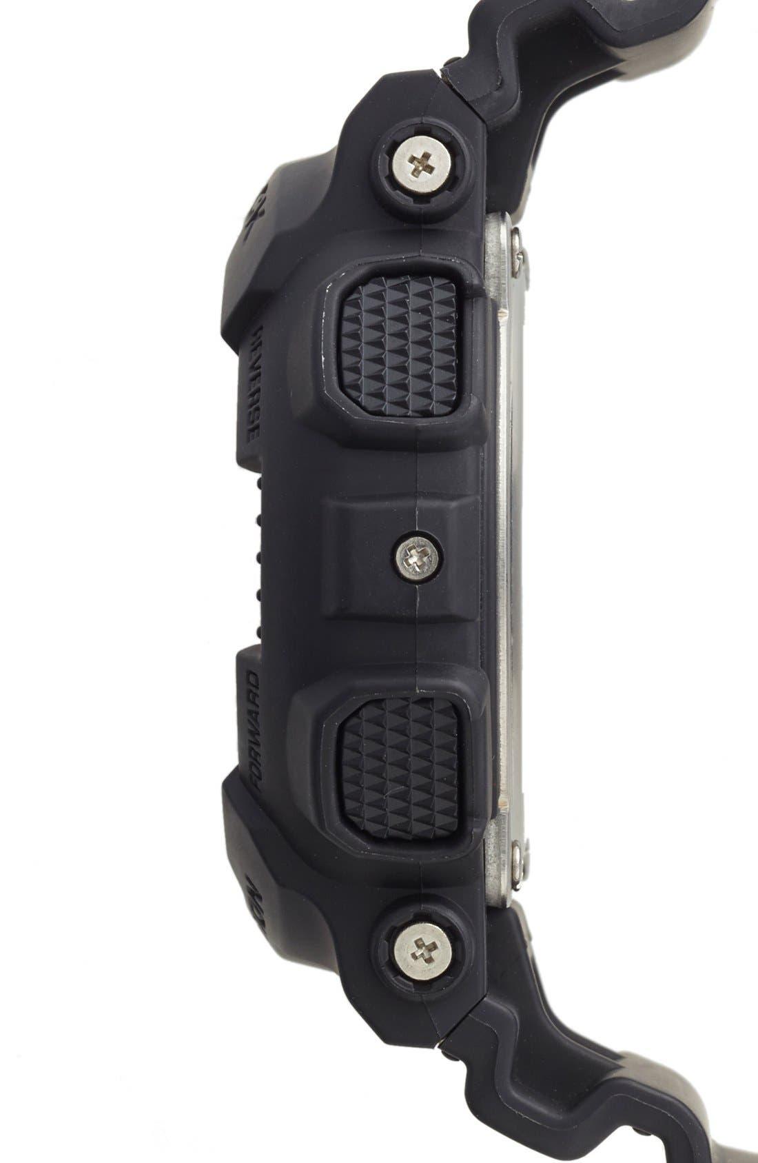 Alternate Image 3  - G-Shock 'Solar' Digital Watch, 46mm x 43mm