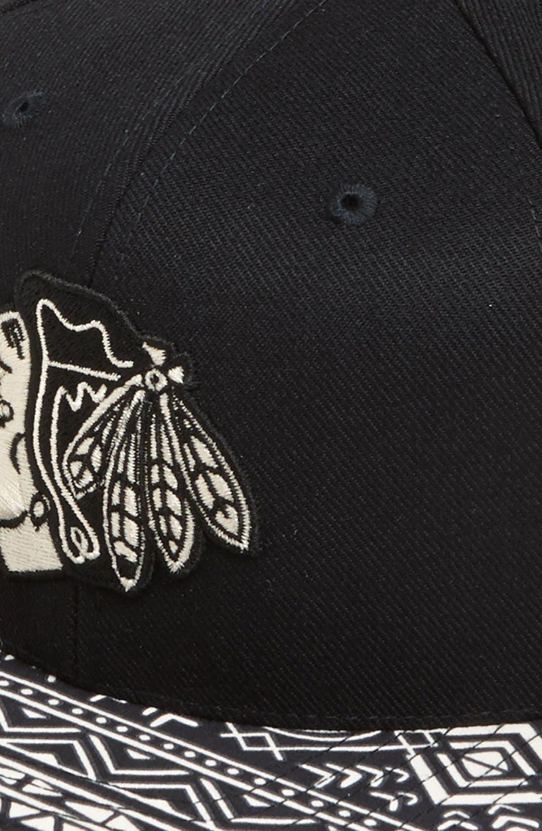 Alternate Image 2  - American Needle 'Chicago Blackhawks - Ancestor' Cap