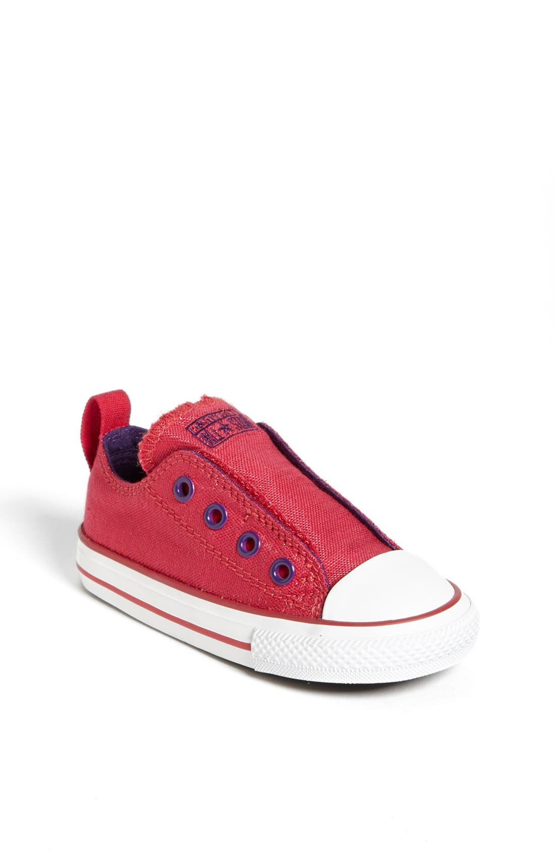 Main Image - Converse Chuck Taylor® All Star® 'Simple' Slip-On (Baby, Walker & Toddler)