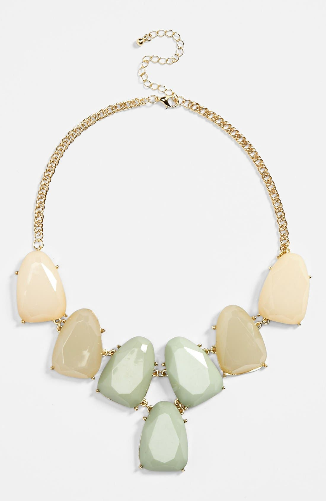 Alternate Image 1 Selected - BP. Stone Statement Necklace (Juniors)
