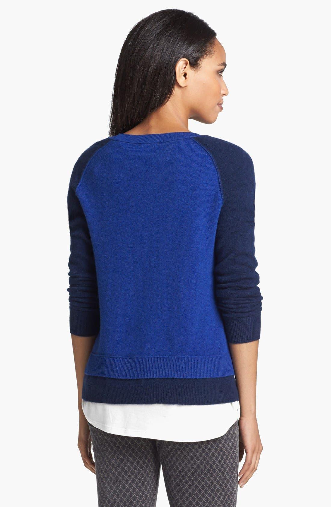 Alternate Image 4  - Halogen® Cashmere Crewneck Sweater