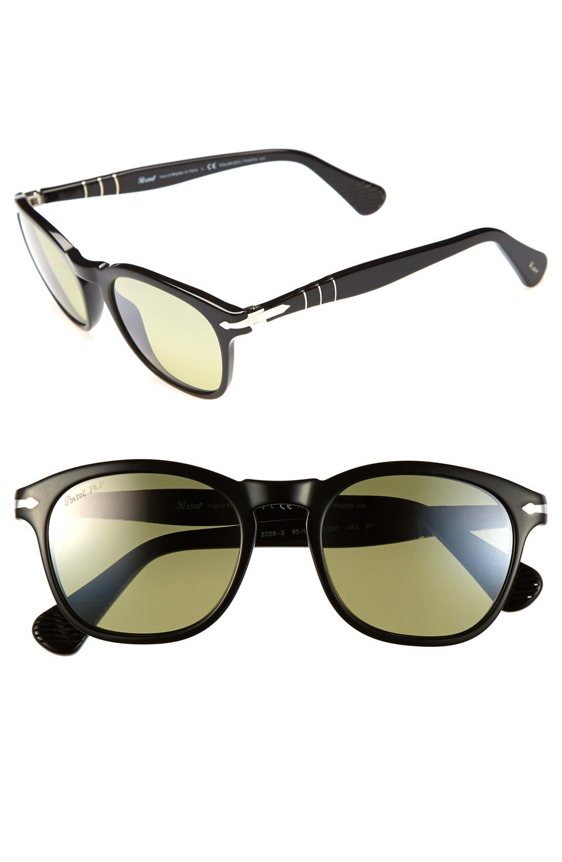 Alternate Image 1 Selected - Persol 51mm Retro Polarized Sunglasses