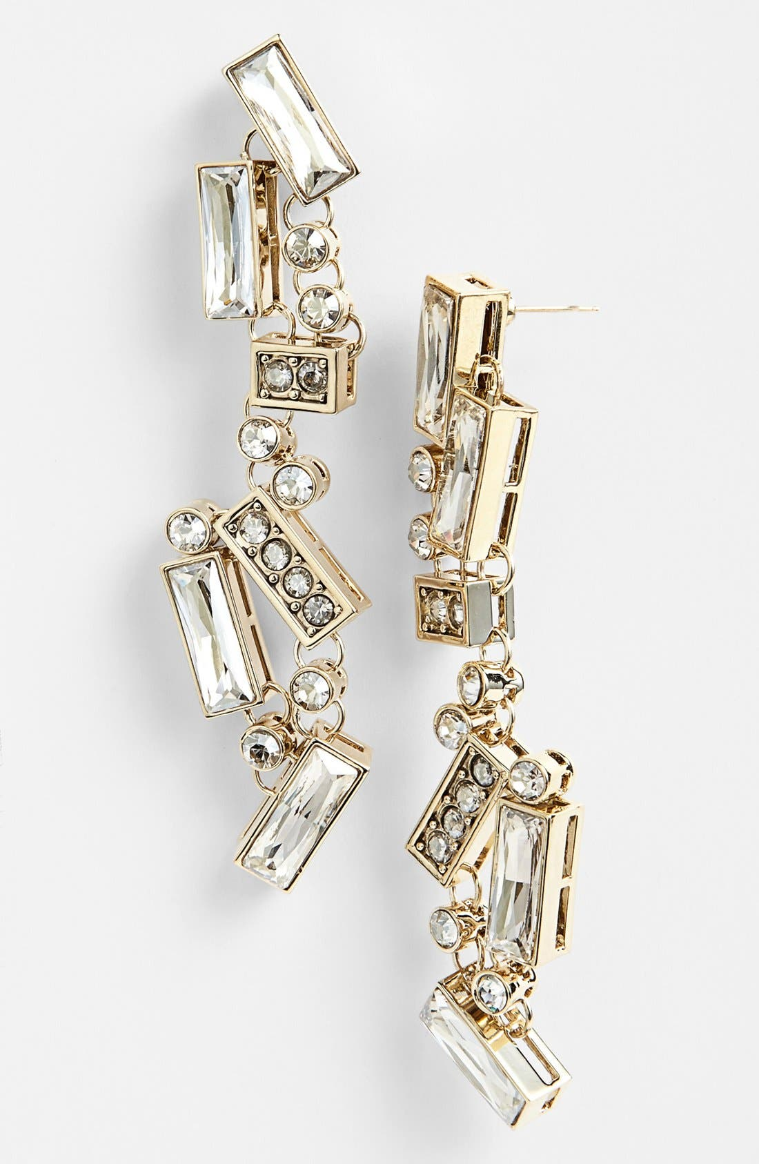 Main Image - St. John Collection Crystal Chandelier Earrings