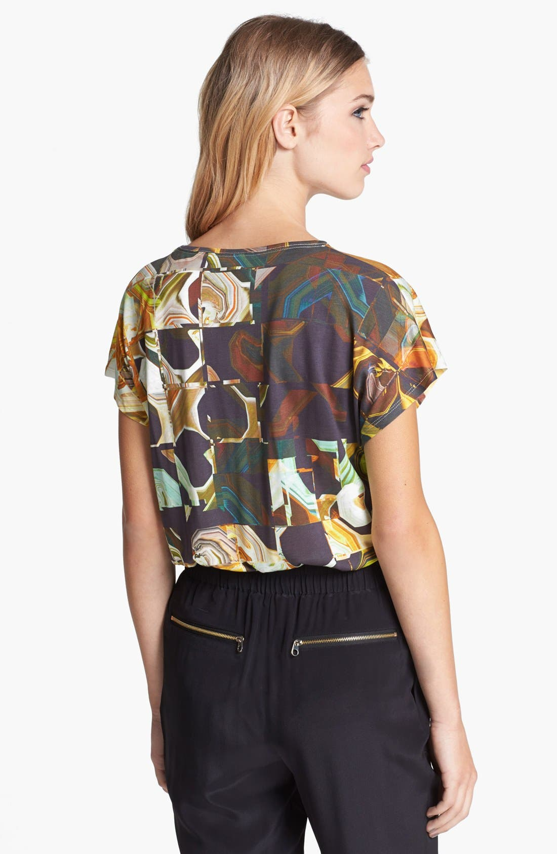 Alternate Image 2  - Ted Baker London Square Print Tee