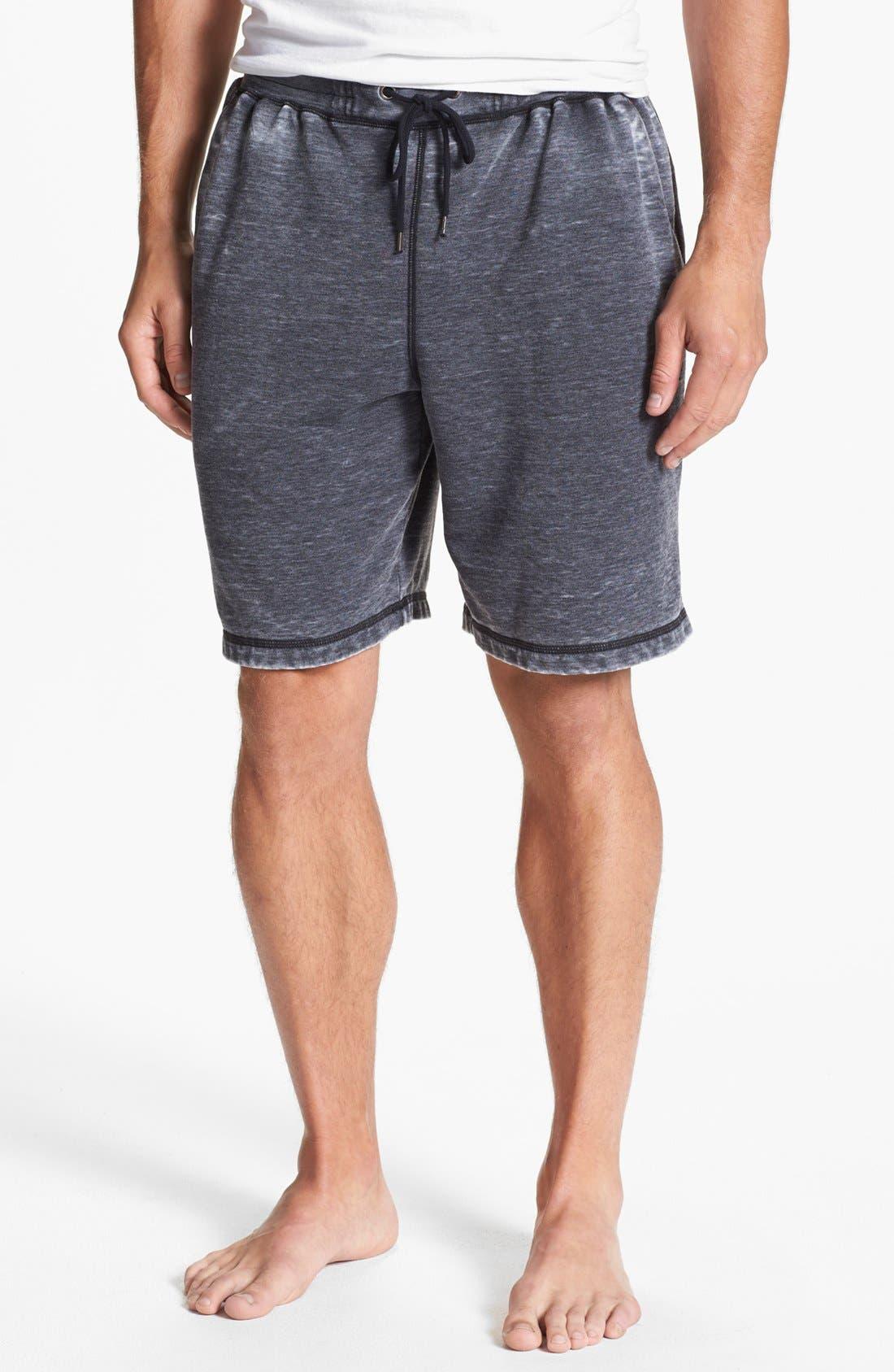 Alternate Image 1 Selected - Daniel Buchler Washed Cotton Blend Shorts