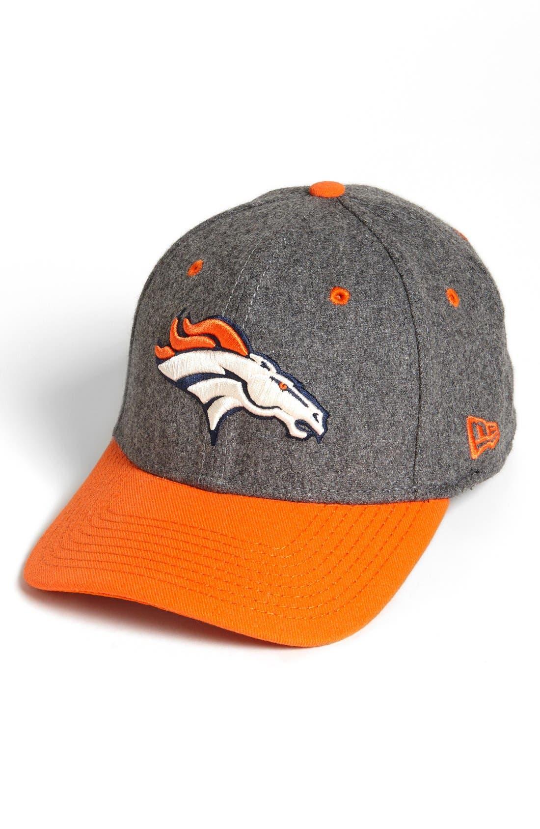 Main Image - New Era Cap 'Meltop - Denver Broncos' Fitted Baseball Cap