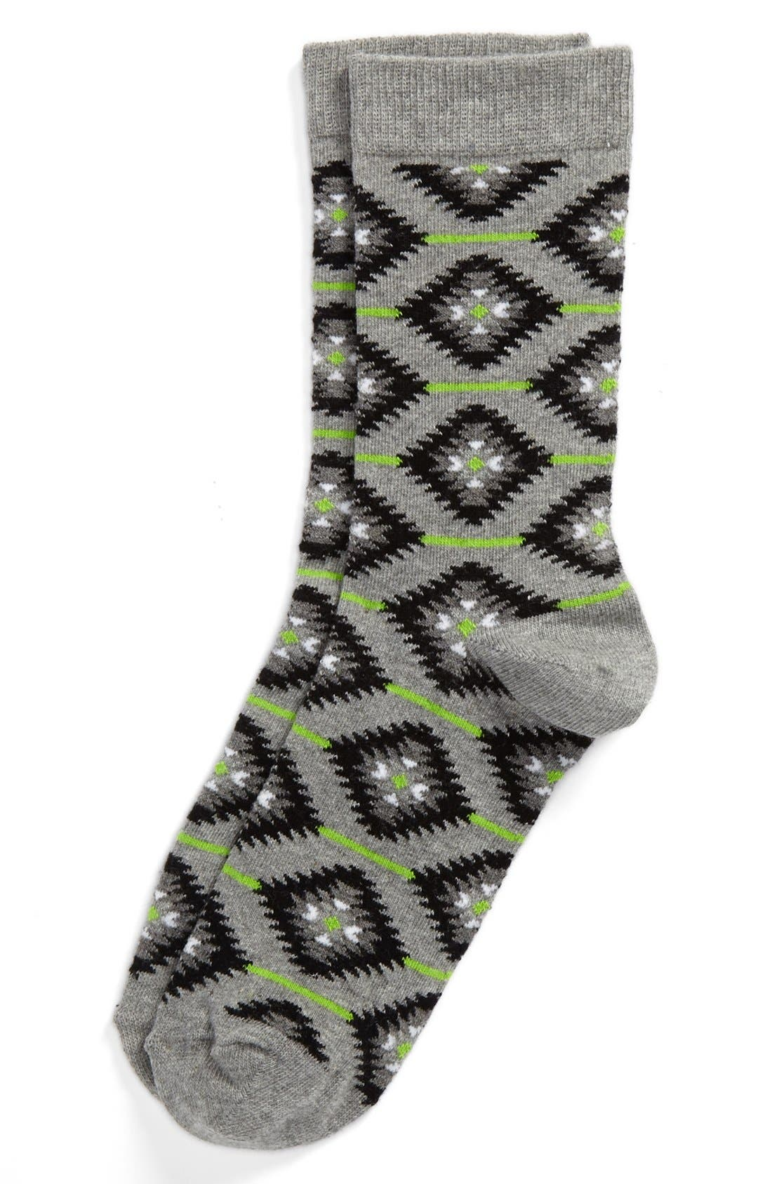 Alternate Image 1 Selected - Topshop Crew Socks