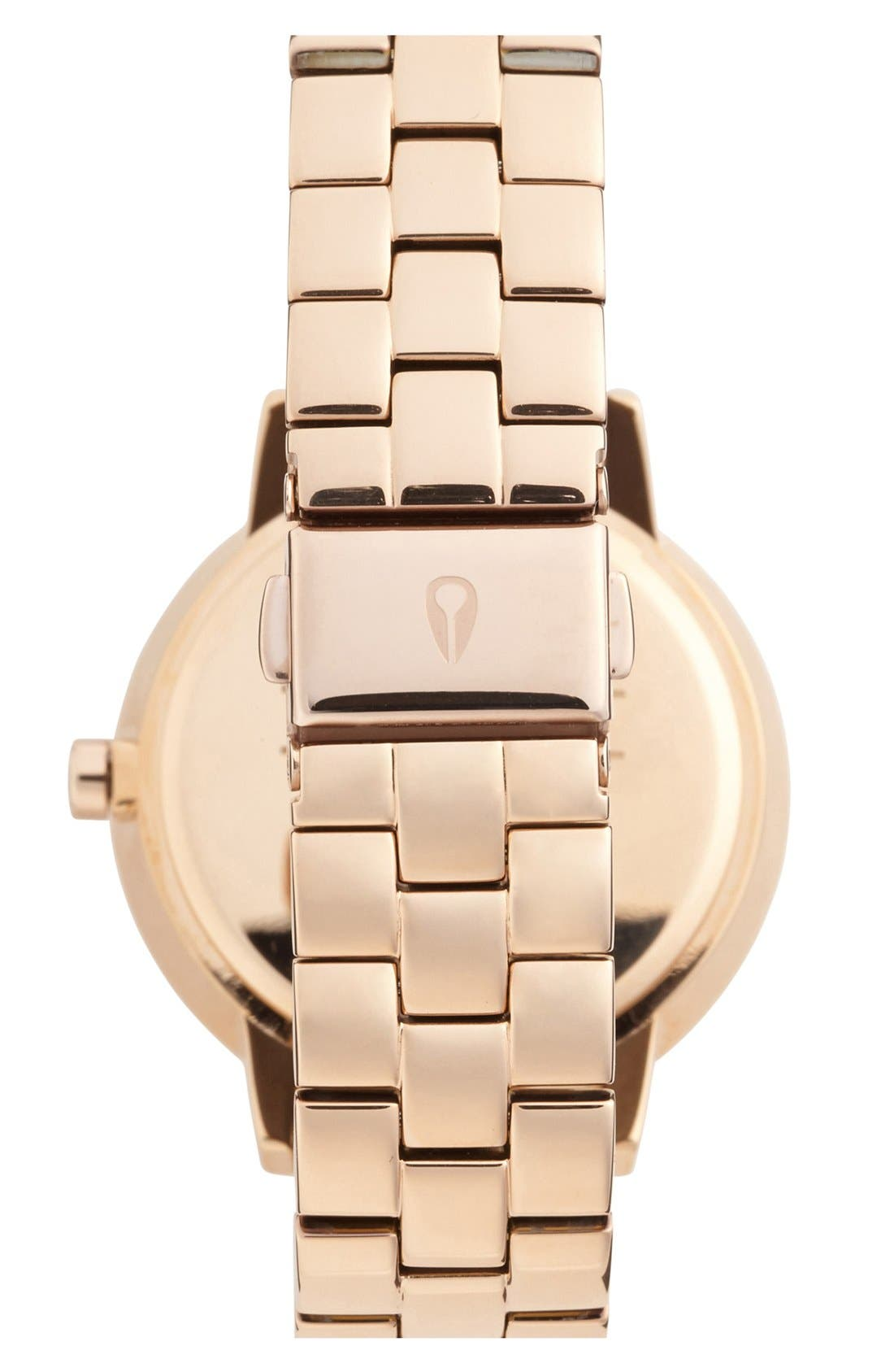 Alternate Image 2  - Nixon 'Kensington' Crystal Bracelet Watch, 37mm