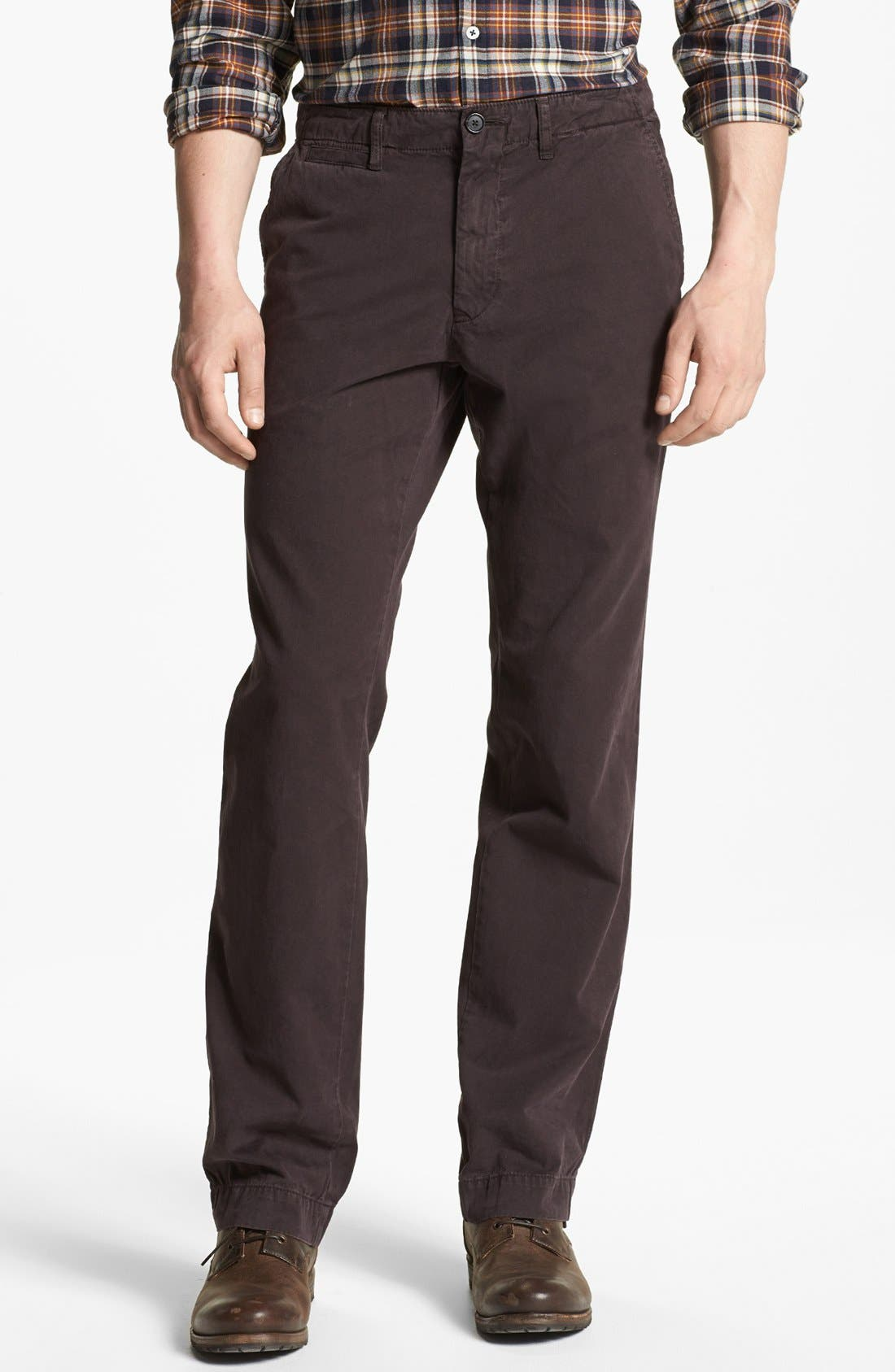 Main Image - Billy Reid Straight Leg Chinos