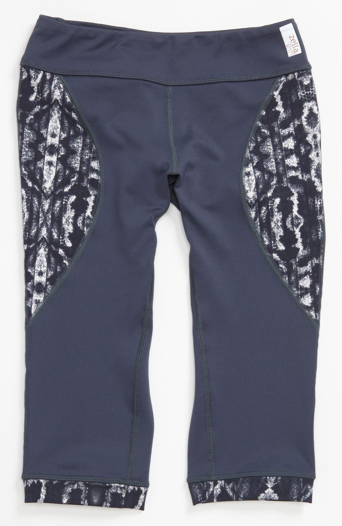 Alternate Image 1 Selected - Zella Girl 'Sprinter' Capri Pants (Little Girls & Big Girls)