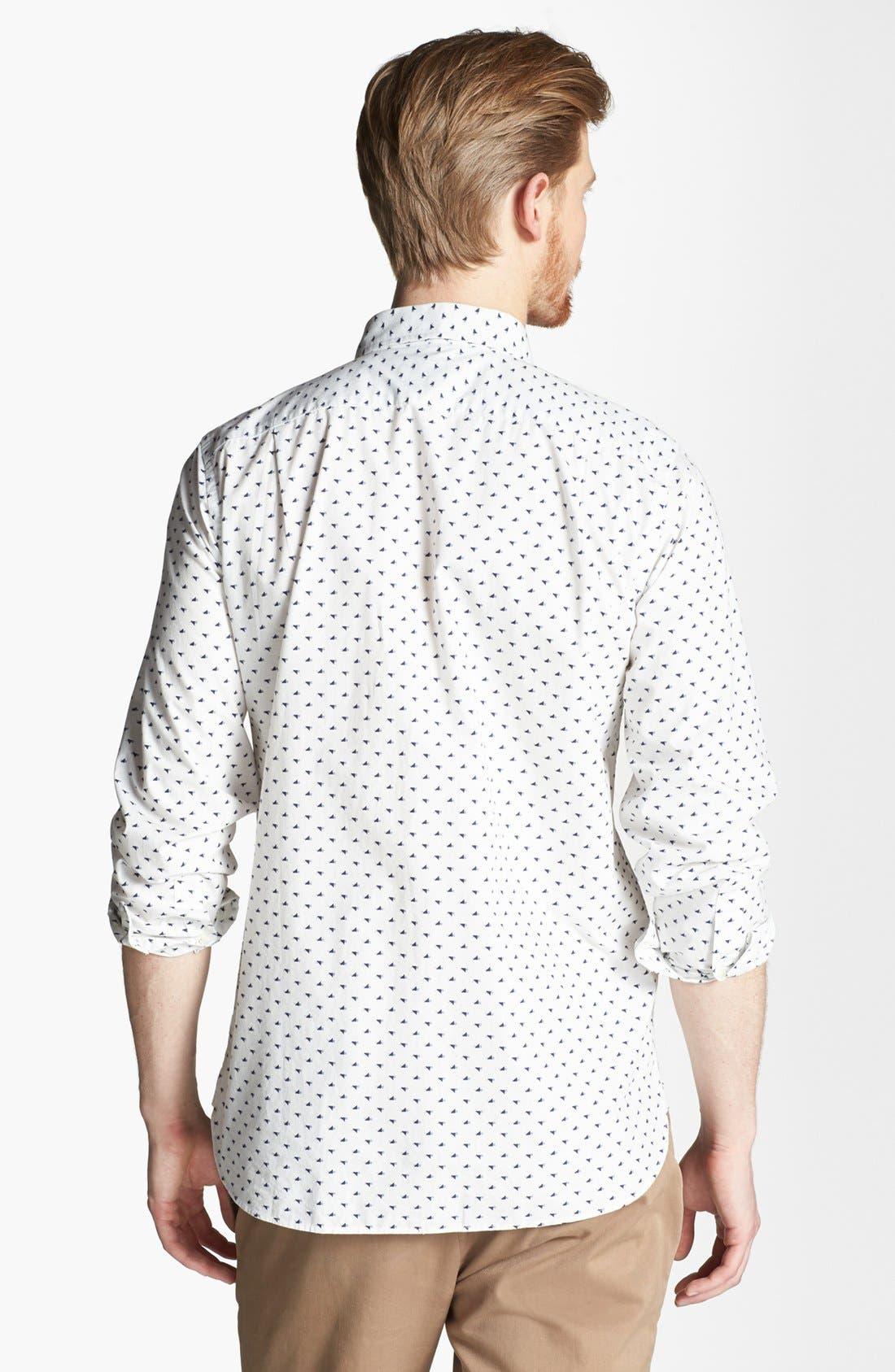 Alternate Image 2  - Jack Spade 'Tangram Bird' Print Woven Shirt