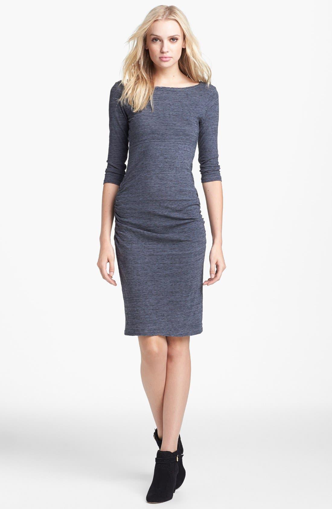 Alternate Image 1 Selected - James Perse Jewel Neck Dress