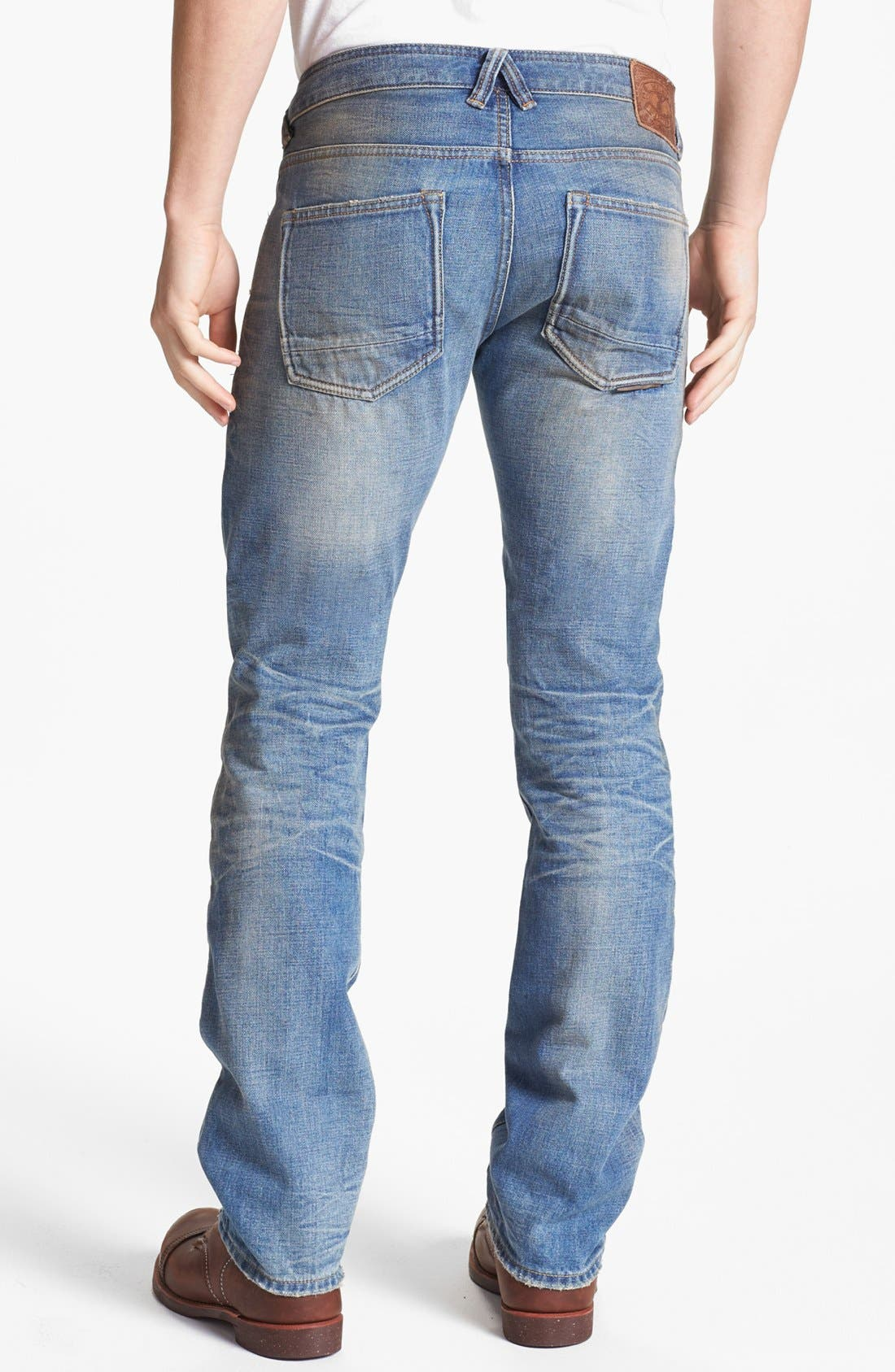 Alternate Image 1 Selected - Natural Selection Denim Straight Leg Jeans (Gamma)