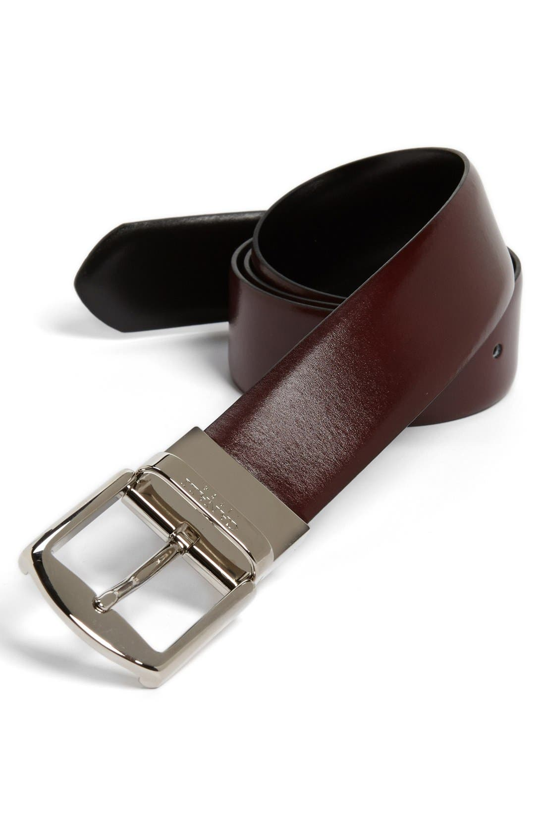 Alternate Image 1 Selected - Canali 'Unito' Reversible Leather Belt