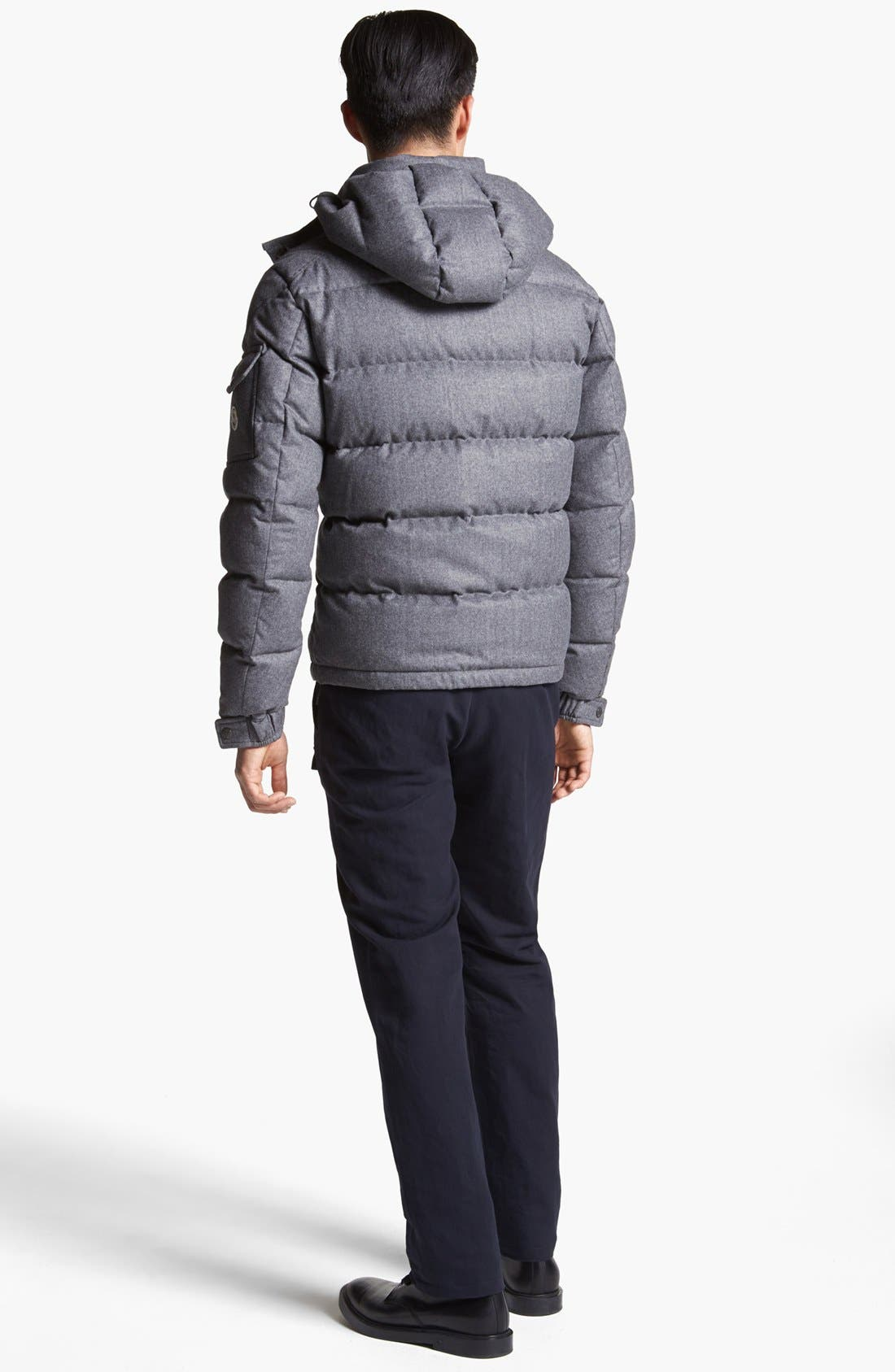Alternate Image 5  - Moncler 'Mongenevre' Wool Down Jacket