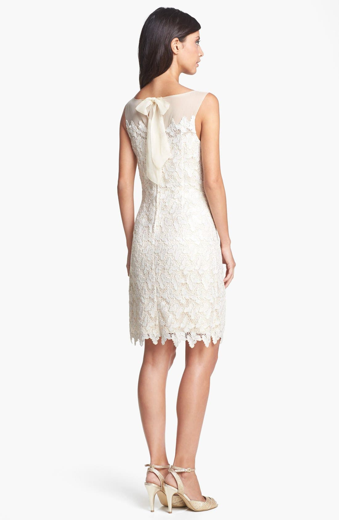 Alternate Image 2  - Lilly Pulitzer® 'Fulton' Foiled Lace Cotton Sheath Dress