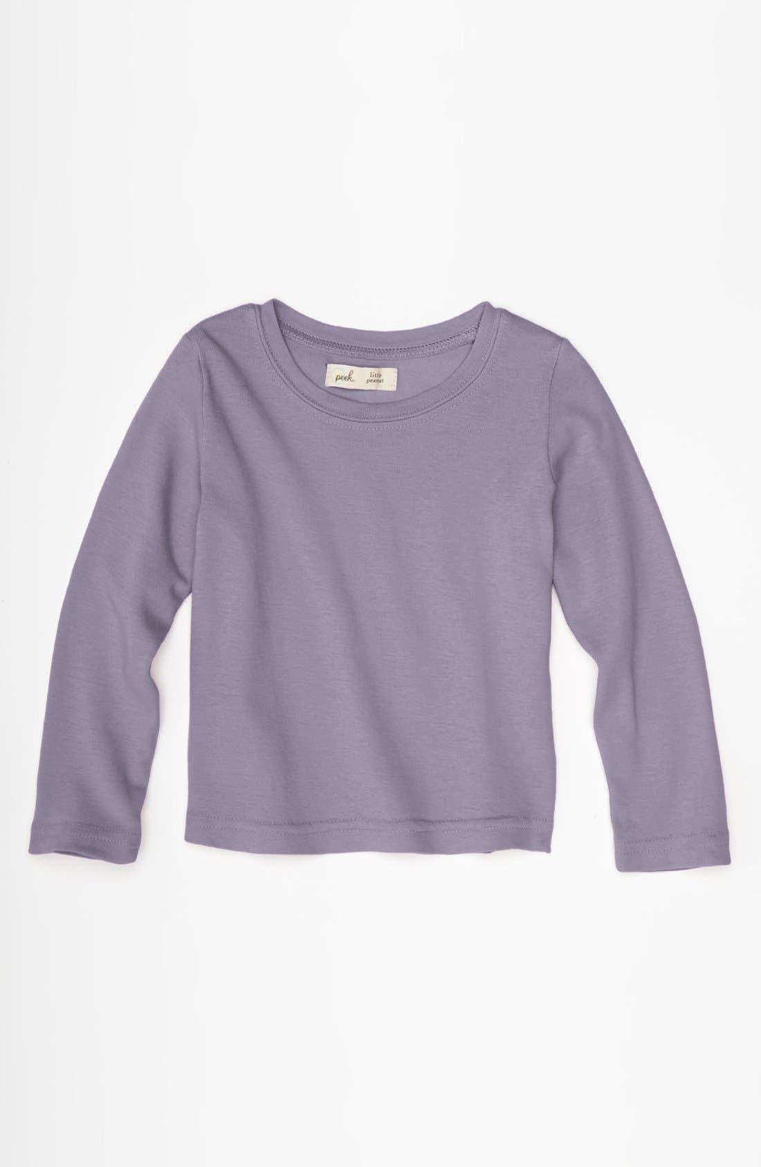 Main Image - Peek 'Little Peanut' Long Sleeve T-Shirt (Baby)