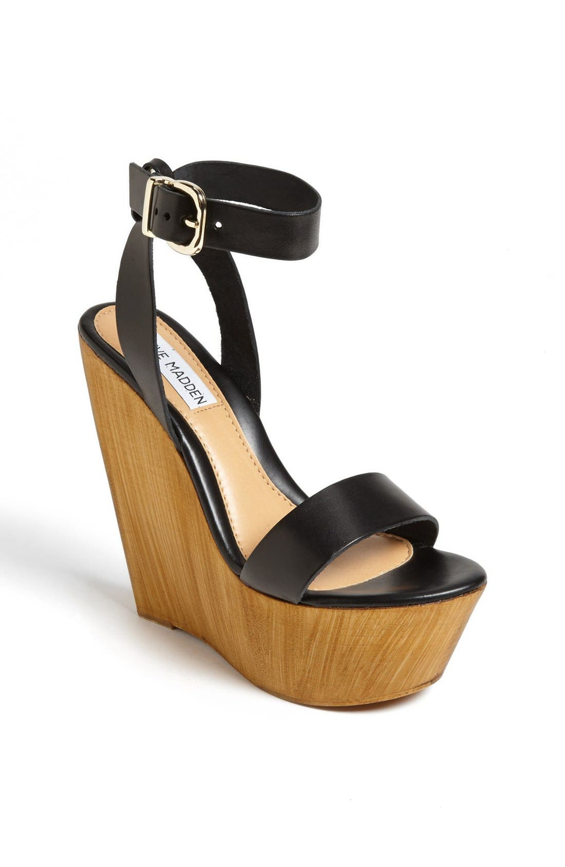 Alternate Image 1 Selected - Steve Madden 'Beachy' Wedge Sandal