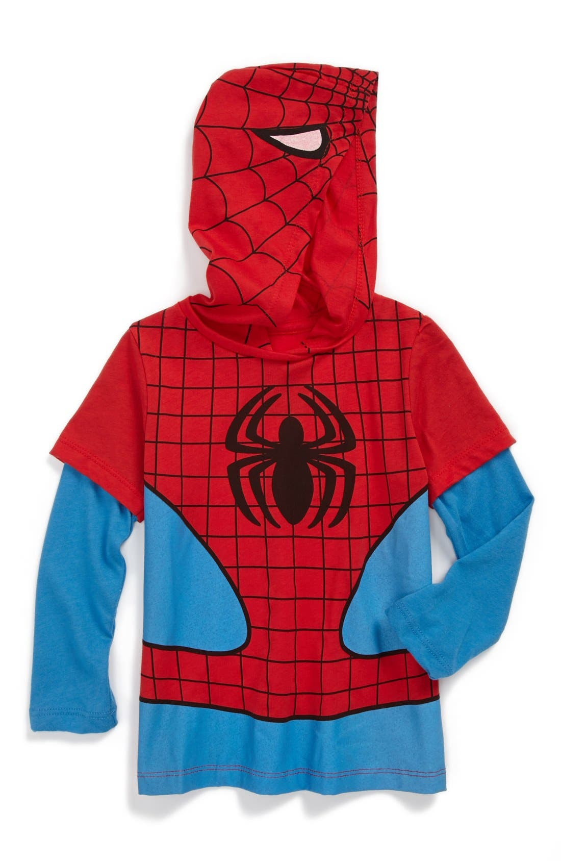 Alternate Image 1 Selected - Mighty Fine 'Spidey' Hoodie (Toddler Boys)