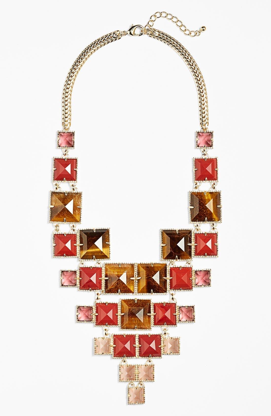 Alternate Image 1 Selected - Kendra Scott 'Maddox' Stone Bib Necklace