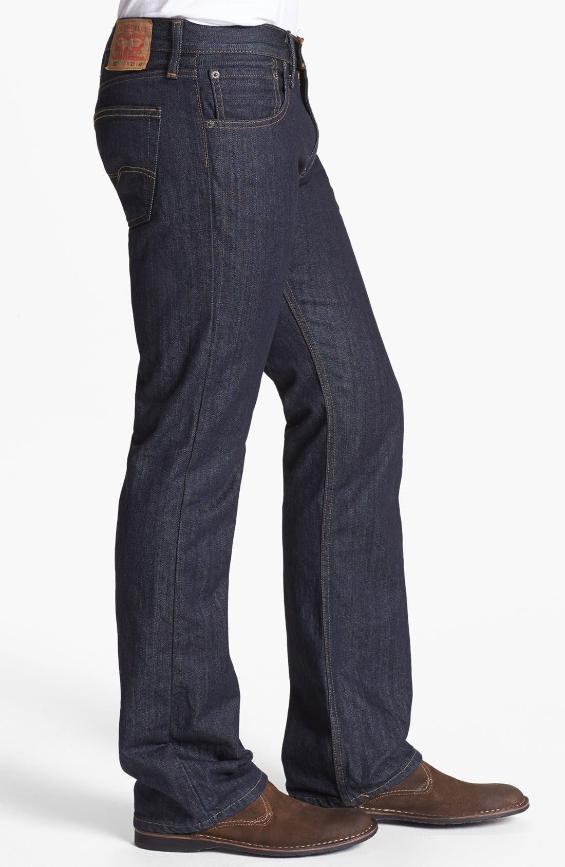 Alternate Image 3  - Levi's® '527™' Bootcut Jeans (Tumbled Rigid)