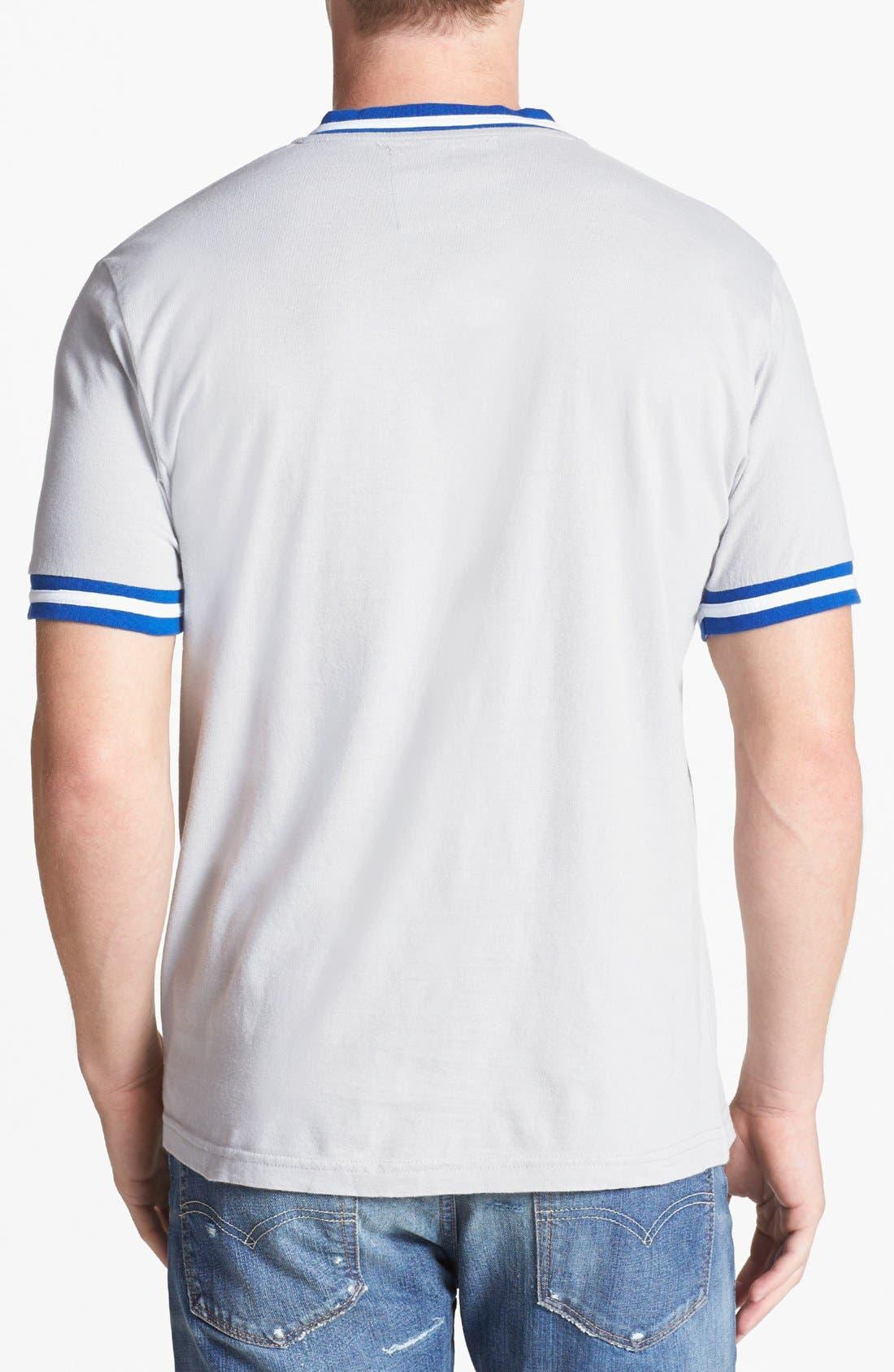 Alternate Image 2  - Wright & Ditson 'Los Angeles Dodgers' V-Neck T-Shirt