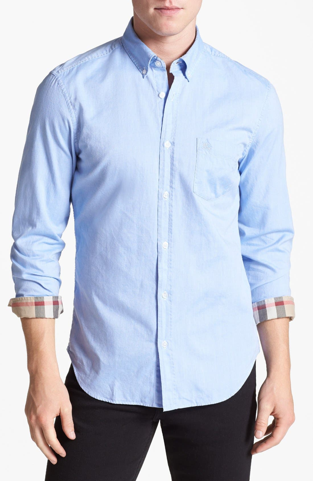 Main Image - Burberry Brit 'Fred' Modern Fit Oxford Cotton Sport Shirt