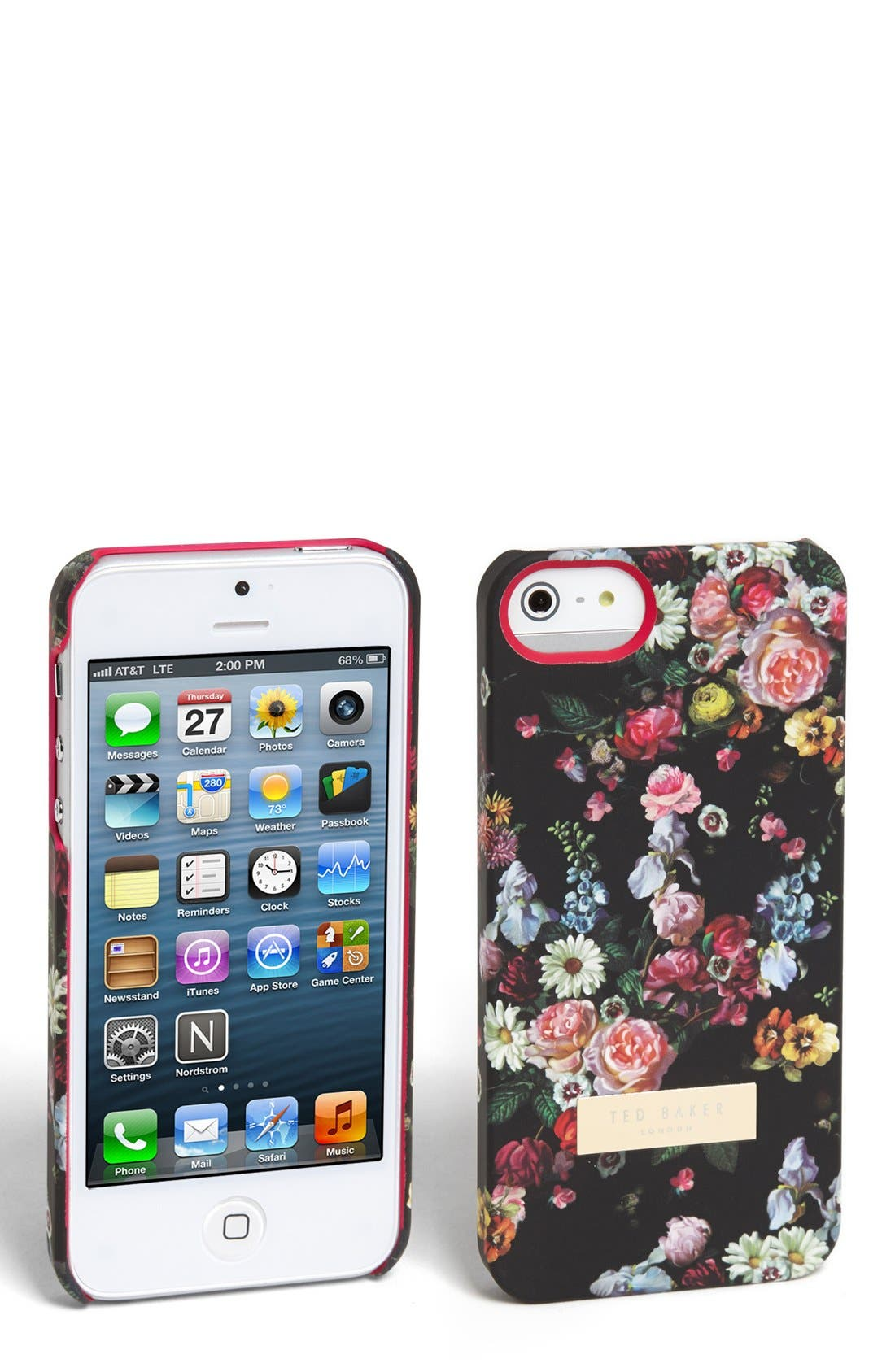 Alternate Image 1 Selected - Ted Baker London 'Oil Blossom' iPhone 5 Case