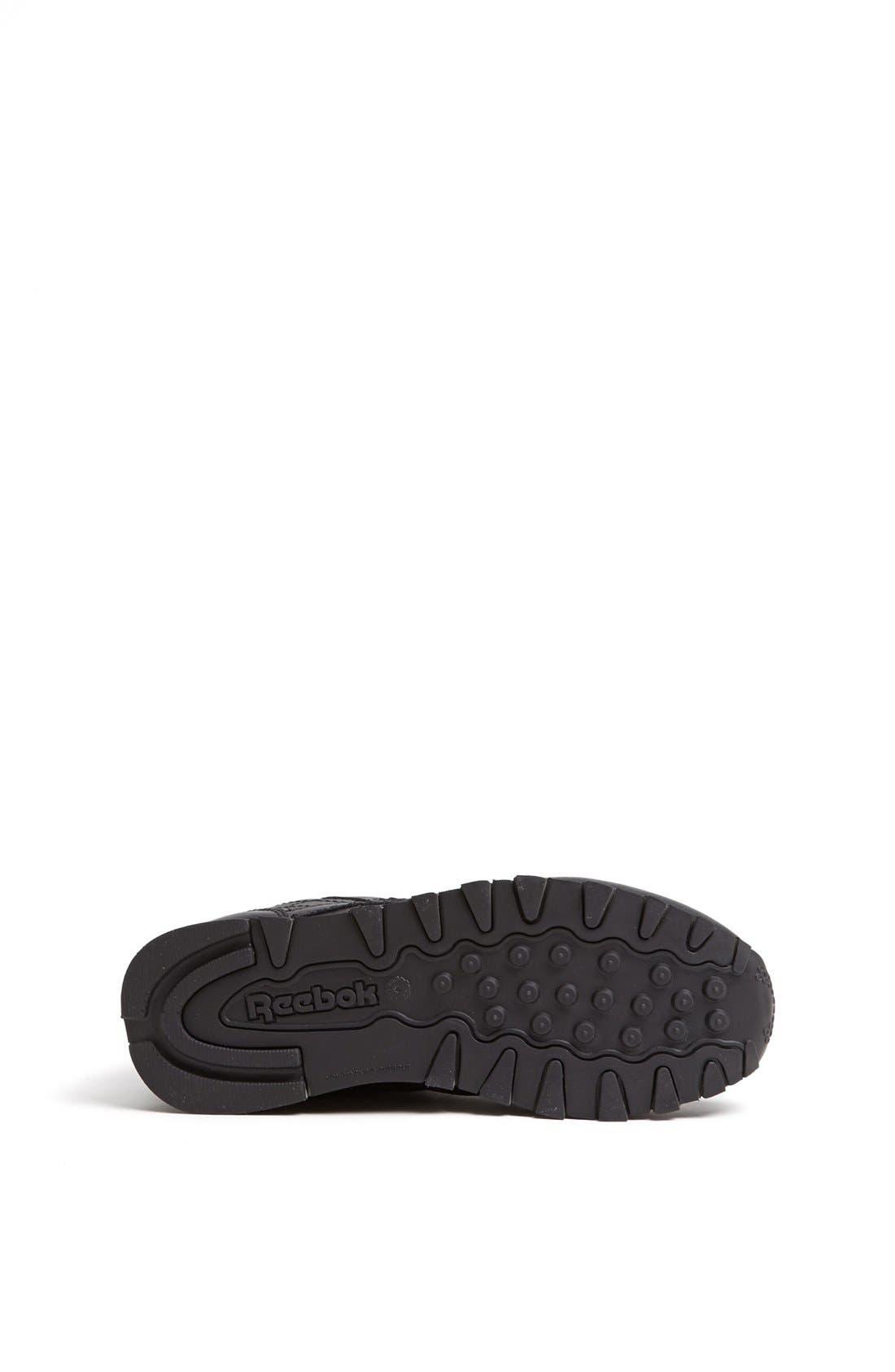 Alternate Image 4  - Reebok 'Classic' Leather Sneaker (Toddler & Little Kid)