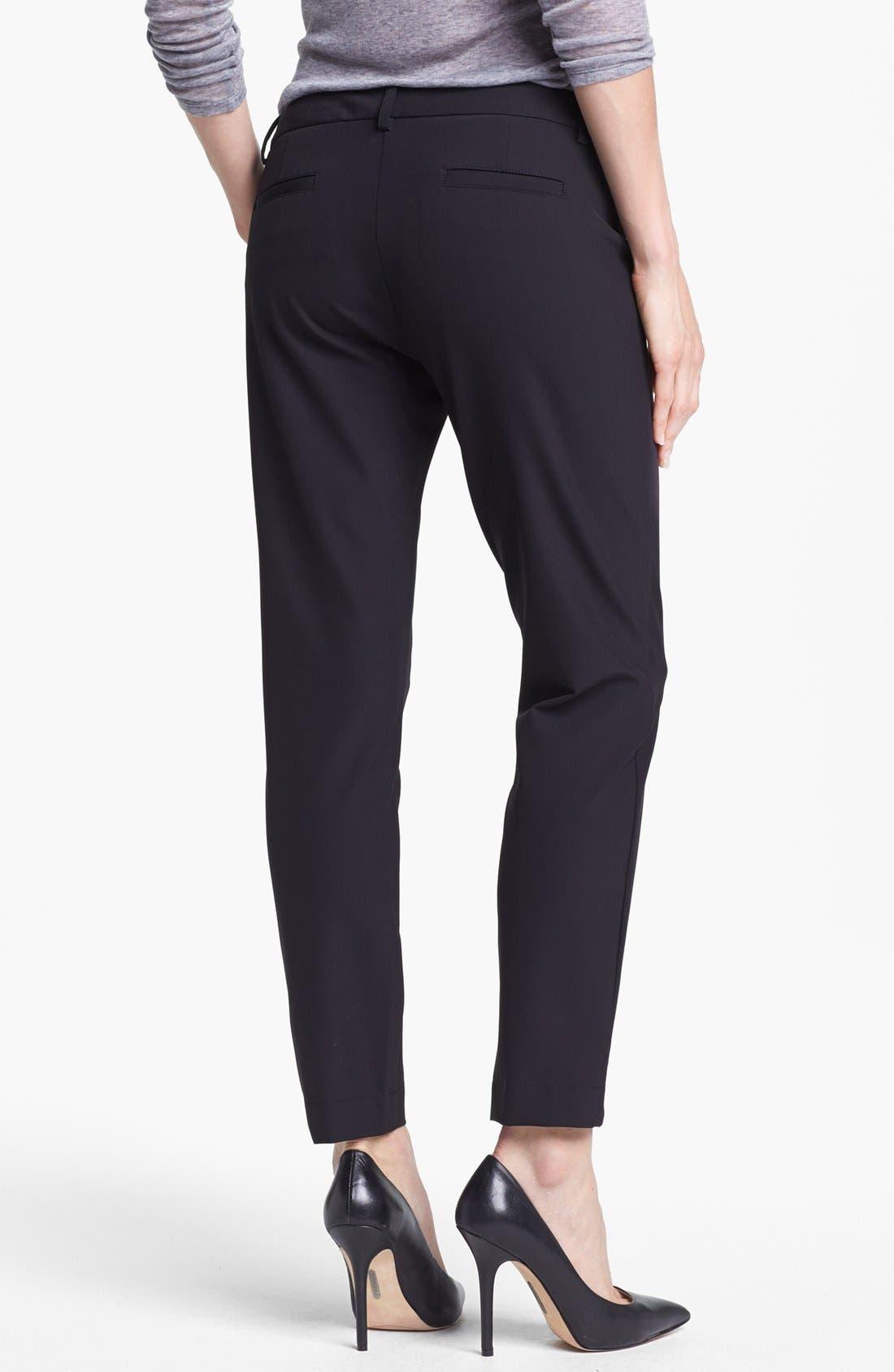 Alternate Image 2  - Kenneth Cole New York 'Alison' Zip Pocket Slim Pants