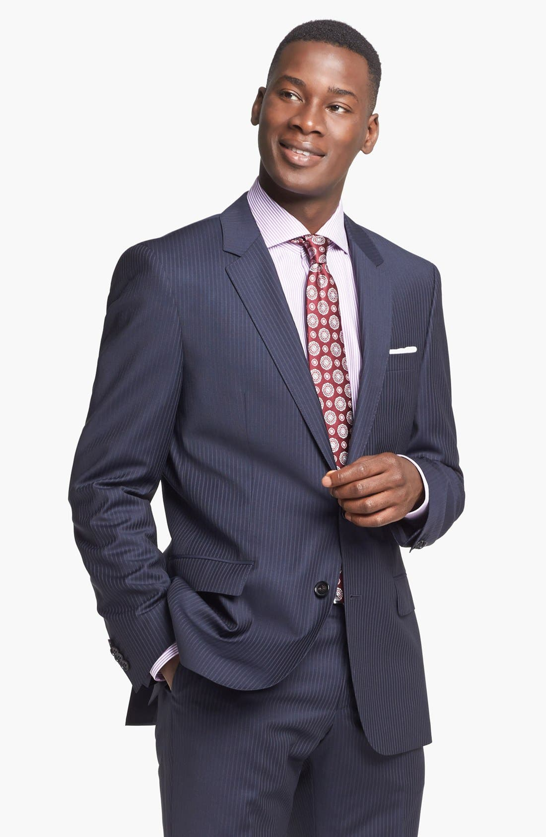 Alternate Image 3  - BOSS HUGO BOSS Suit & Dress Shirt