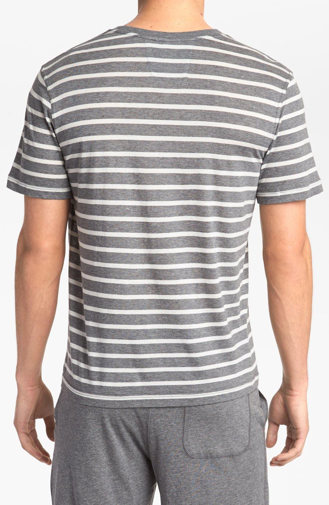 Alternate Image 2  - Daniel Buchler Cotton/Modal Blend T-Shirt