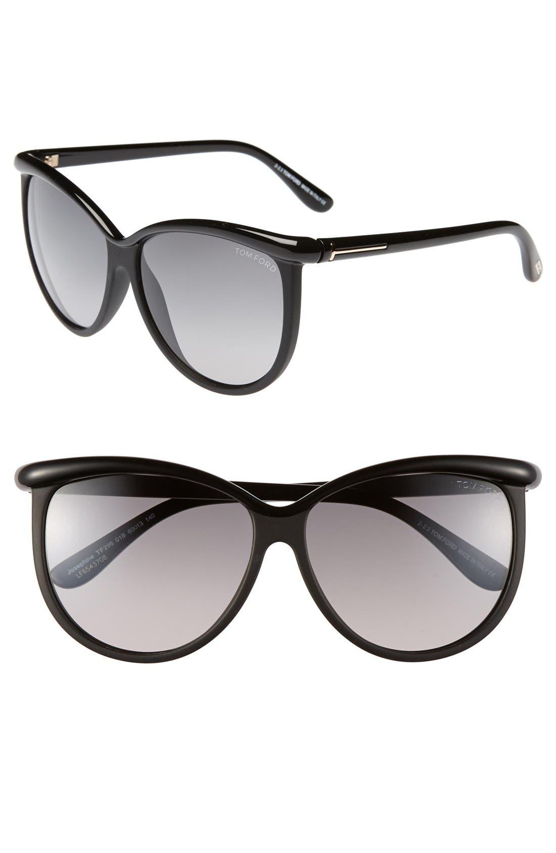 Main Image - Tom Ford 'Josephine' 60mm Sunglasses