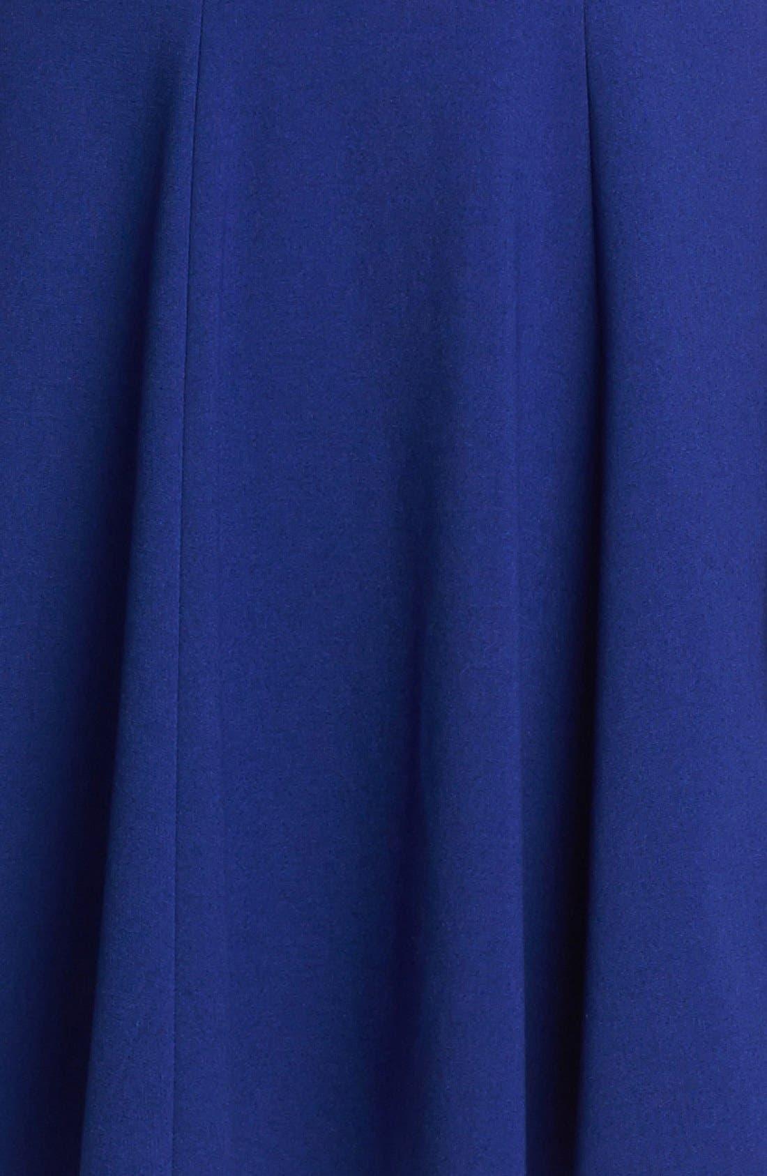 Alternate Image 3  - Eliza J Seamed Skater Dress (Petite)