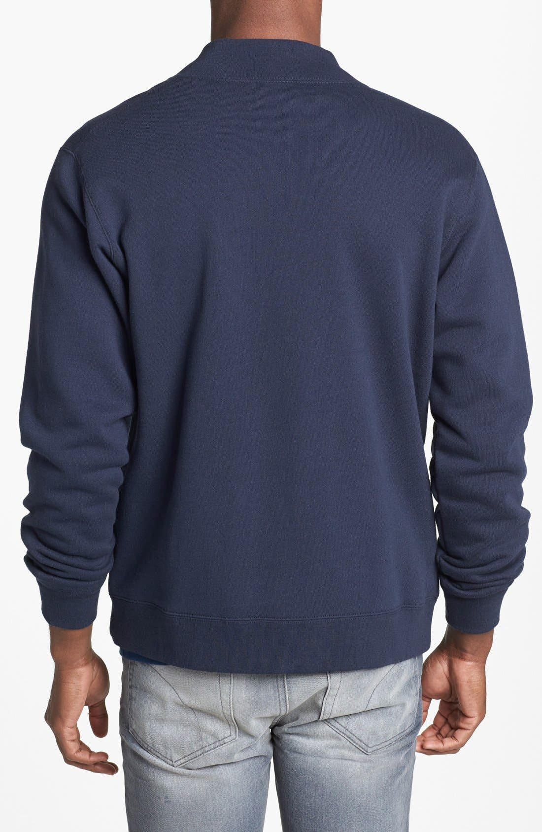 Alternate Image 2  - Obey 'Back Lot' Jersey Varsity Jacket