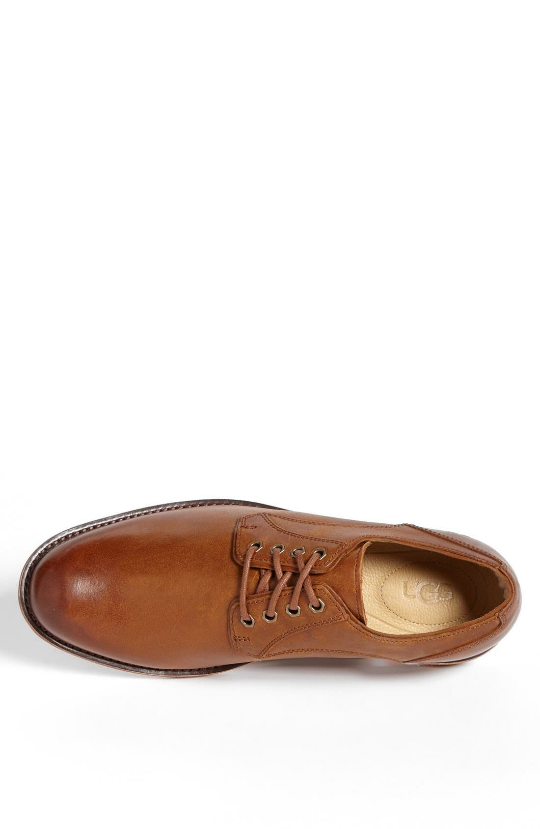 Alternate Image 3  - UGG® Australia 'Hunnington' Plain Toe Derby
