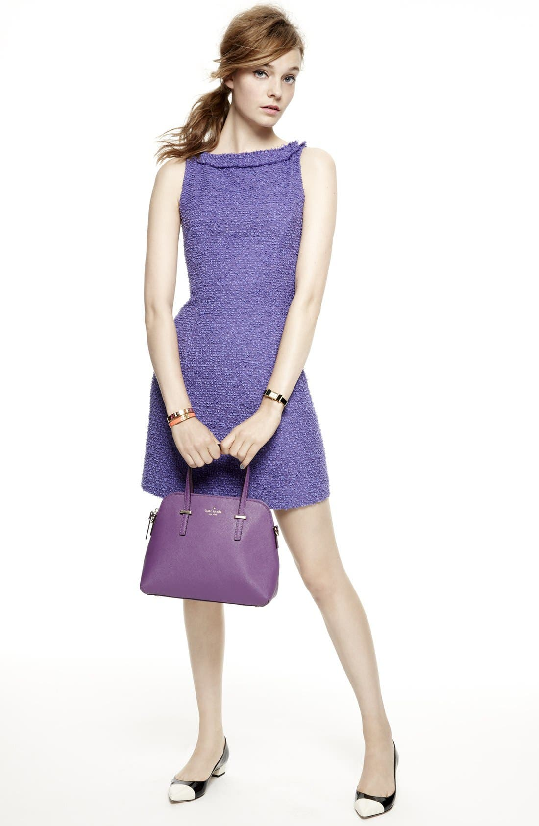 Alternate Image 1 Selected - kate spade new york a-line dress & accessories