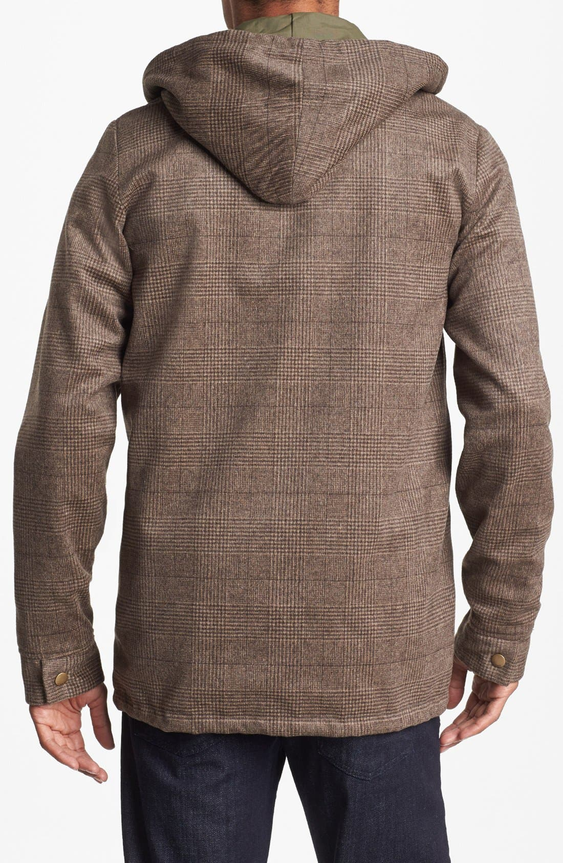 Alternate Image 3  - Obey 'Harken' Reversible  Hooded Jacket