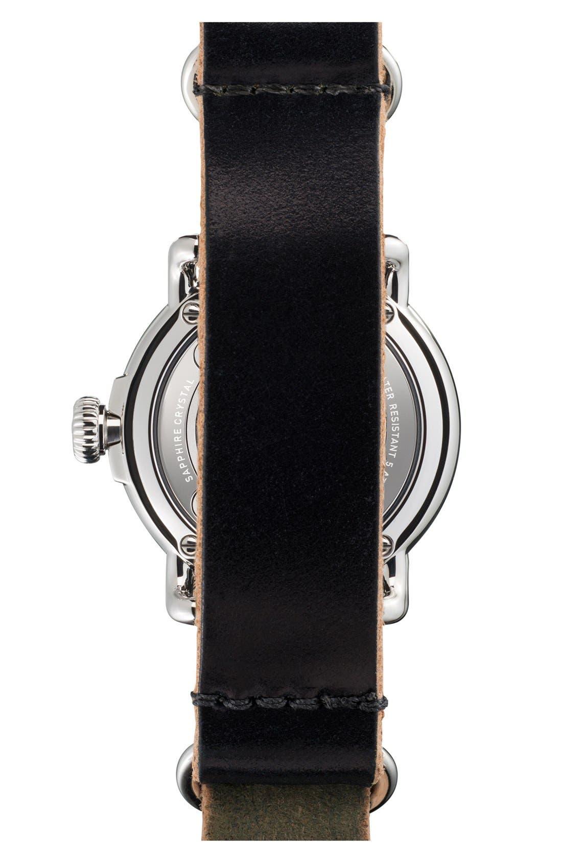 Alternate Image 2  - Shinola 'The Runwell' Leather Strap Watch, 28mm