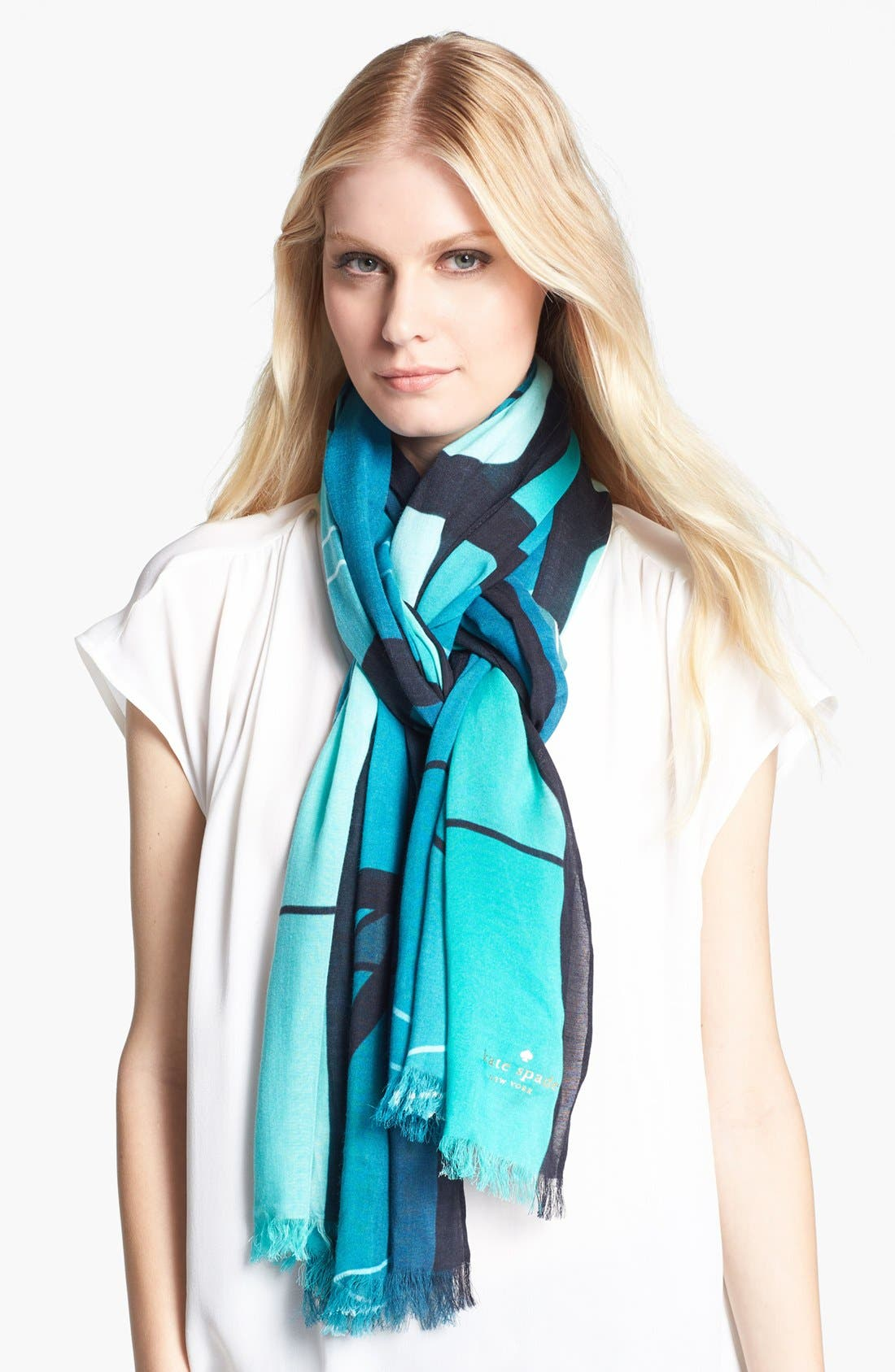 Alternate Image 1 Selected - kate spade new york 'film strip' scarf