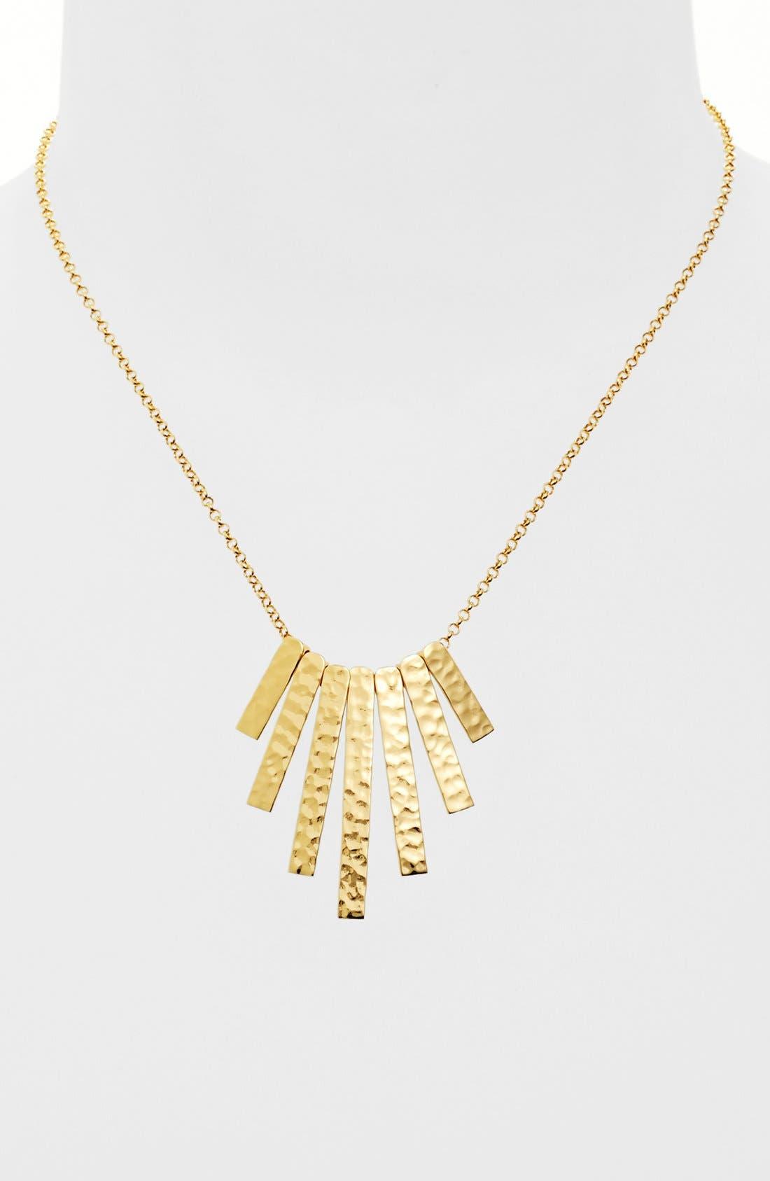 Main Image - Argento Vivo 'Sunray' Frontal Necklace