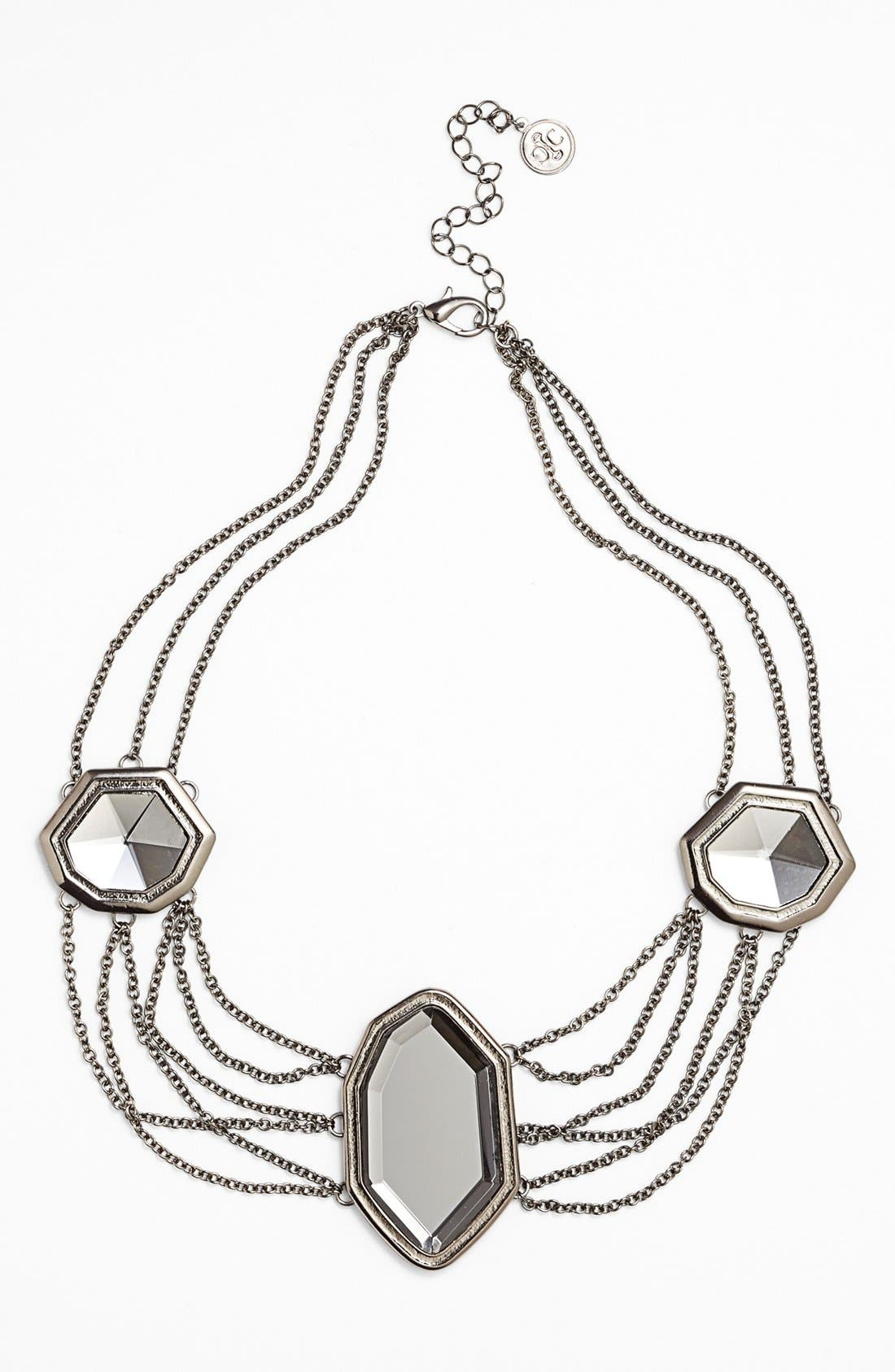 Main Image - Carbon Copy Mirrored Collar Necklace