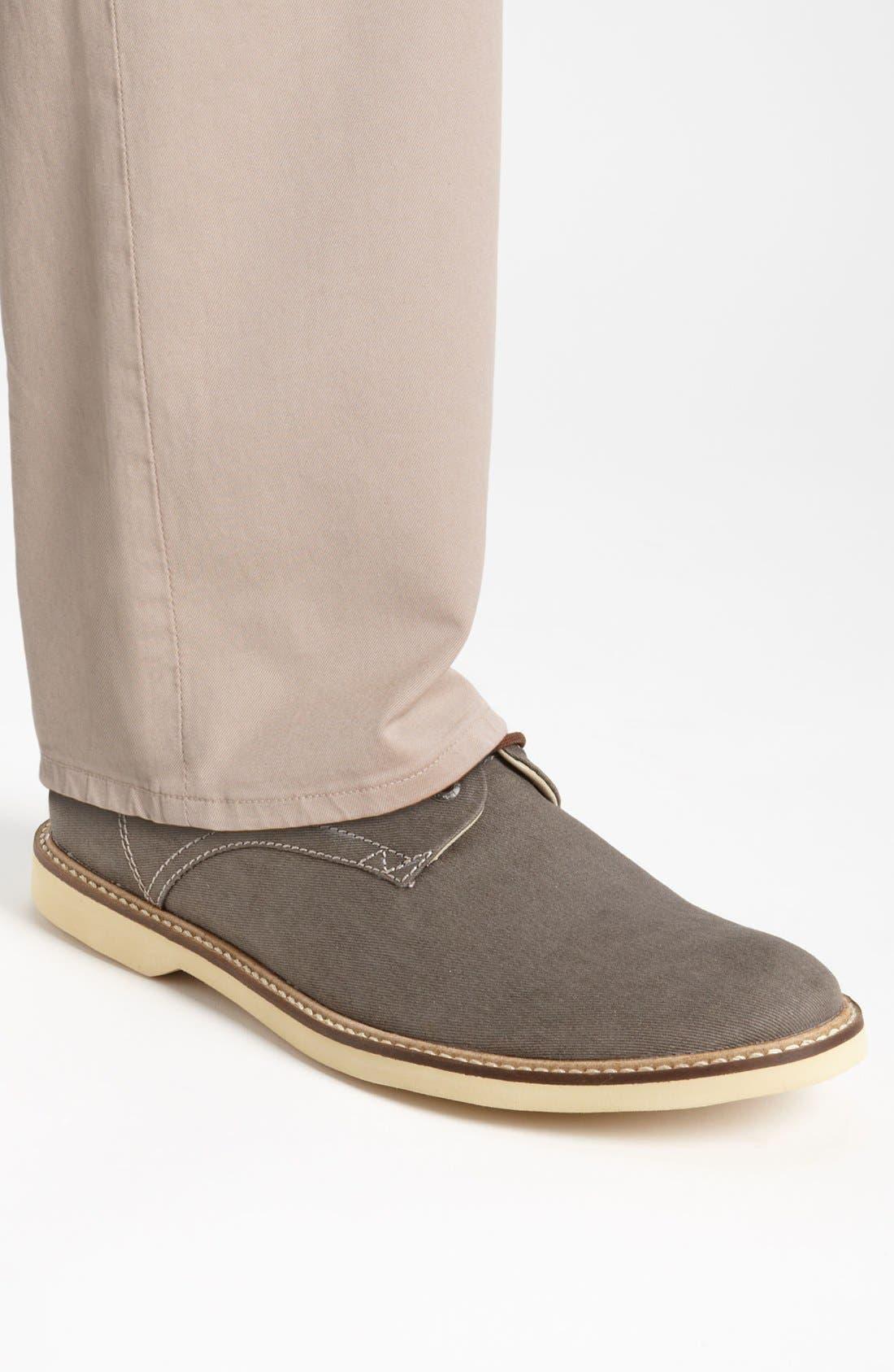 Alternate Image 5  - Lacoste 'Sherbrooke 7' Twill Buck Shoe