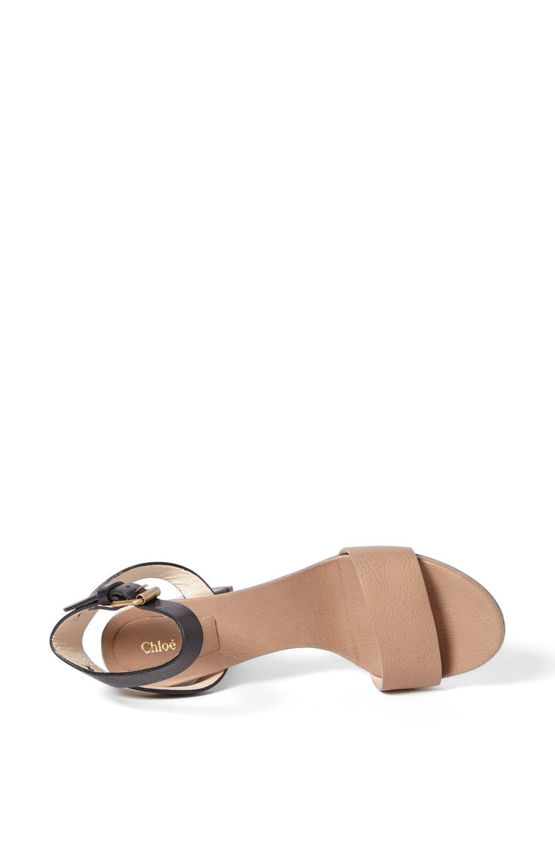 Alternate Image 3  - Chloé 'Heloise Udine' Bicolor Sandal