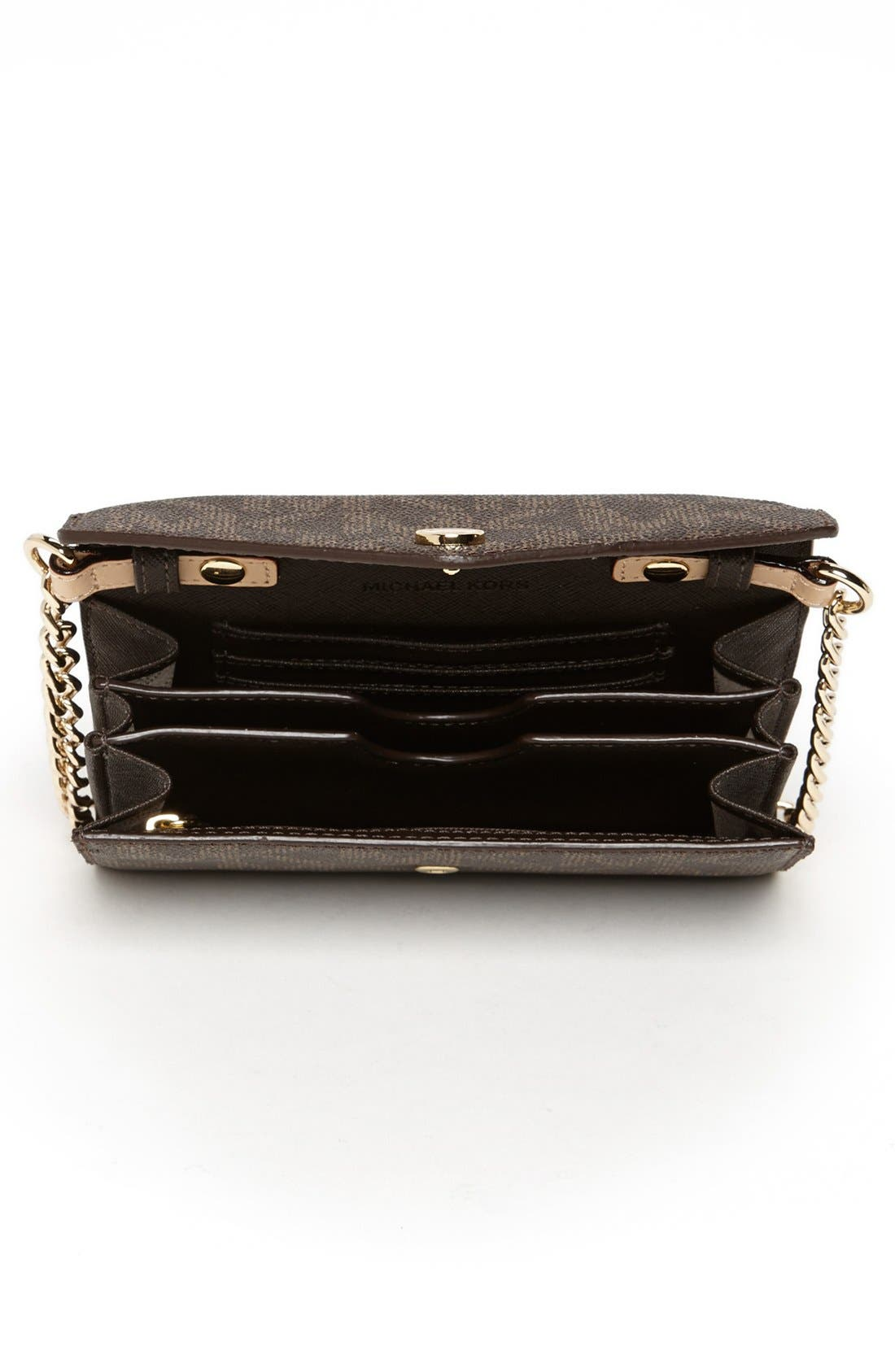 Alternate Image 3  - MICHAEL Michael Kors 'Signature - Saffiano' Crossbody Phone Bag