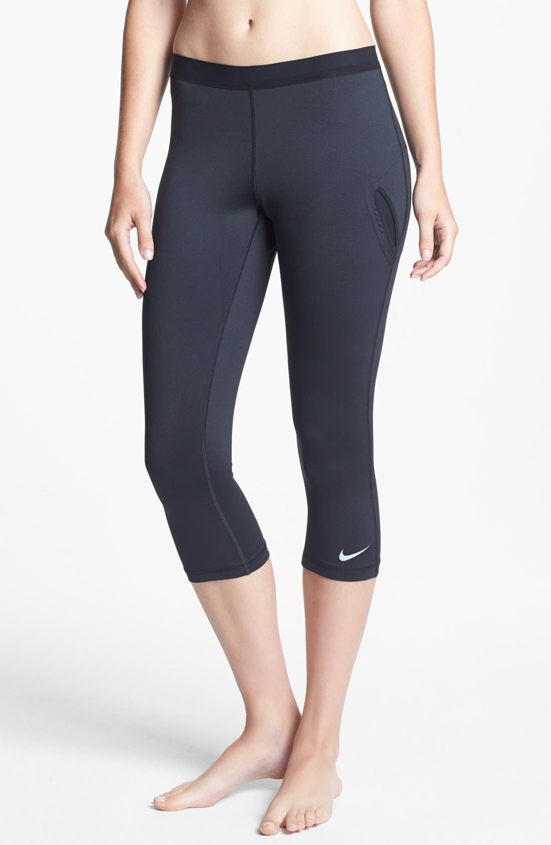 Main Image - Nike Capri Tennis Tights